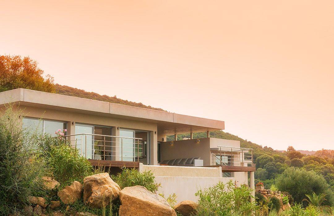 Propriano Location Villa Luxe Preles Façade