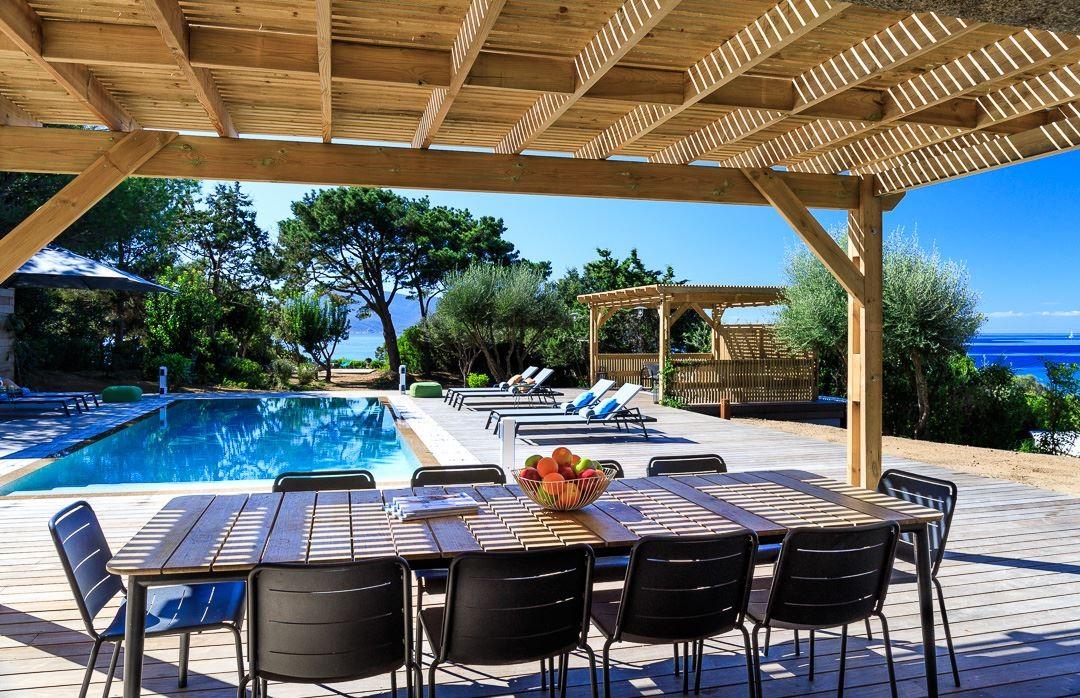 Propriano Location Villa Luxe Prelis Table