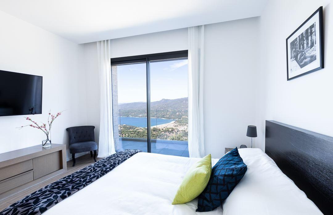 Propriano Location Villa Luxe Prelus Chambre 1