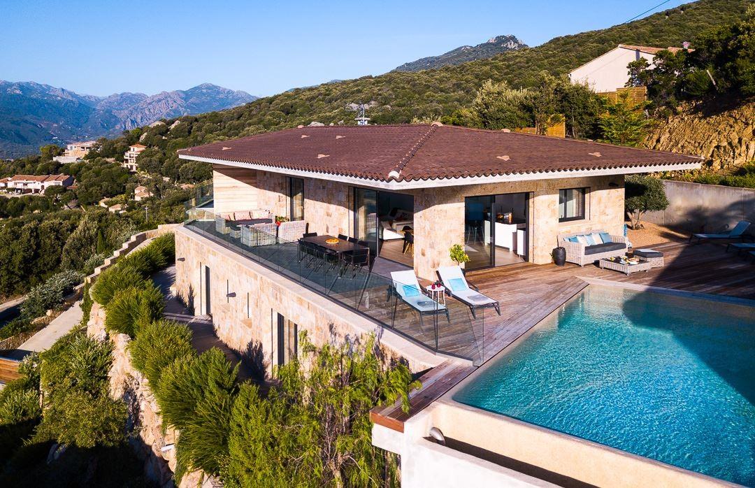 Propriano Location Villa Luxe Prelus Exterieur