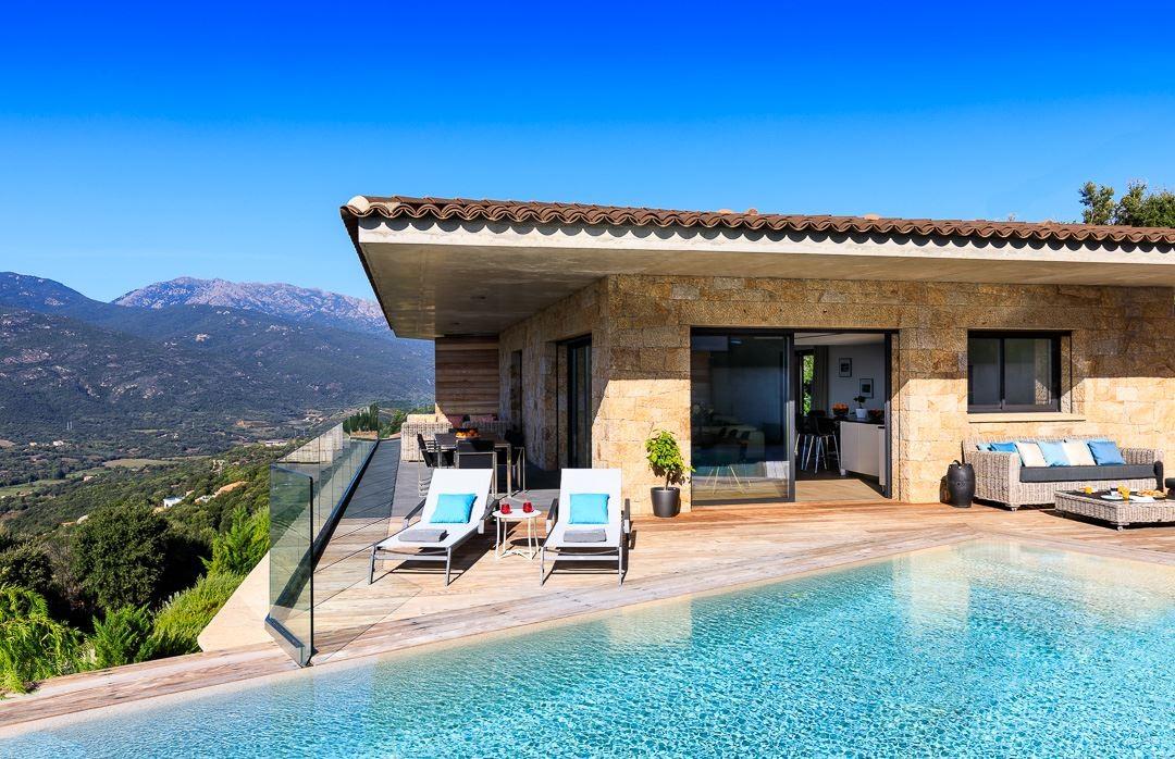 Propriano Location Villa Luxe Prelus Façade