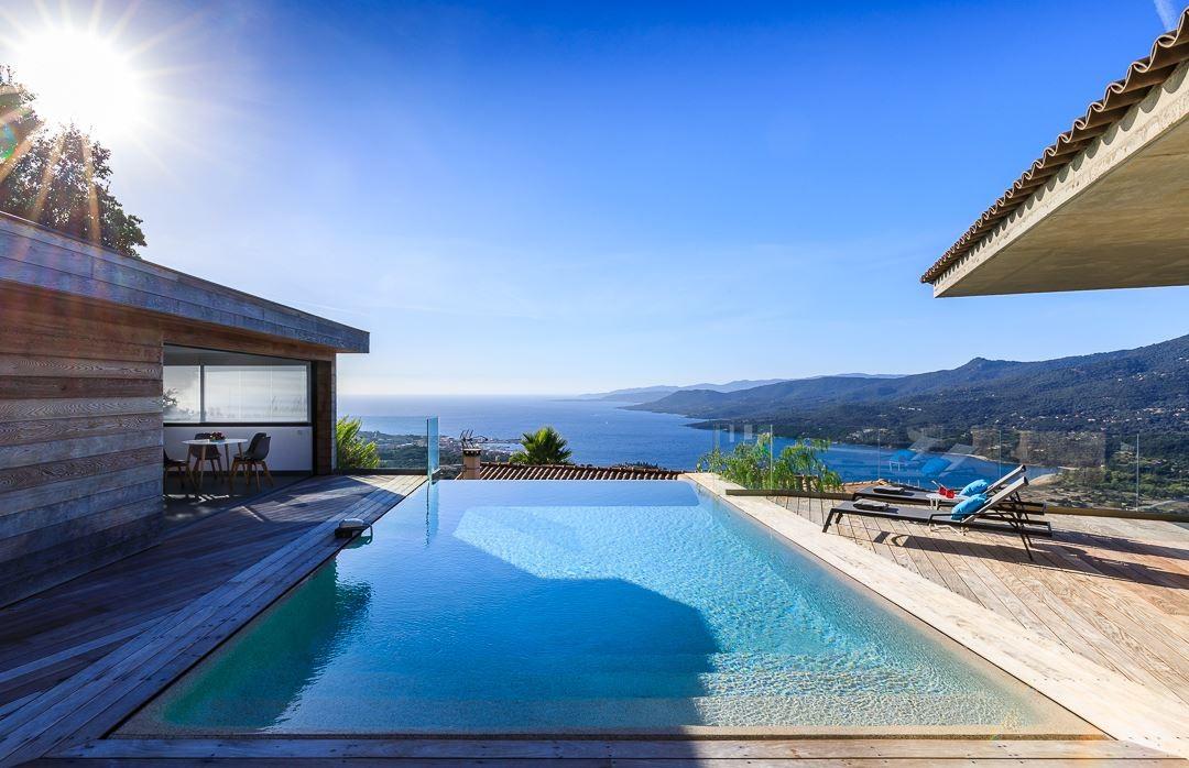 Propriano Location Villa Luxe Prelus Piscine 1