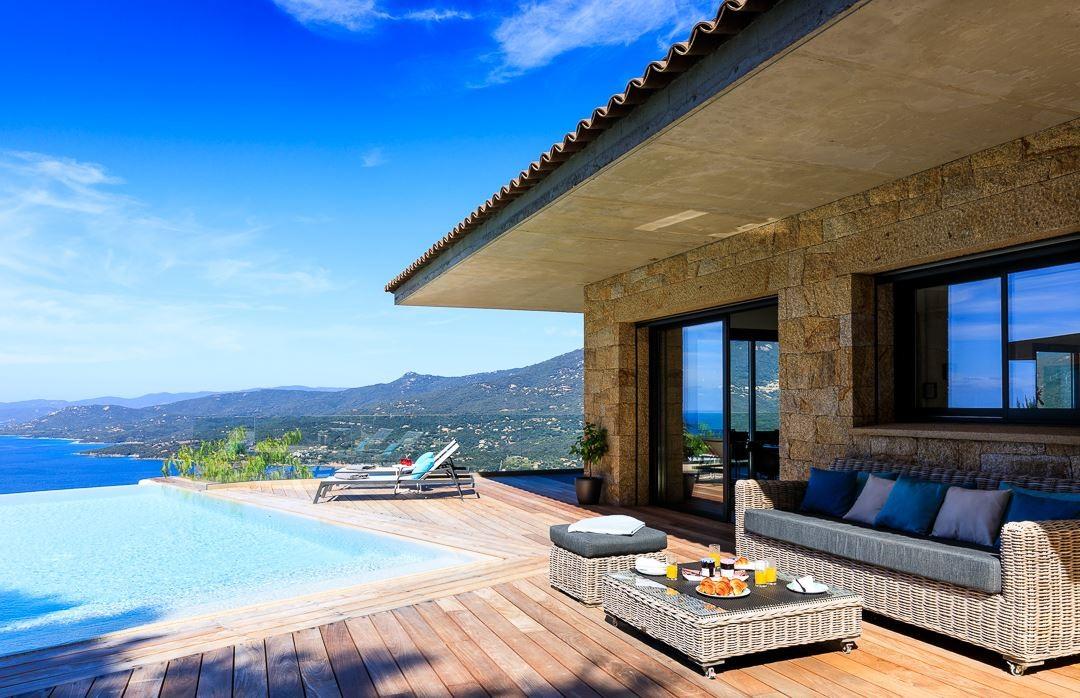 Propriano Location Villa Luxe Prelus Vue