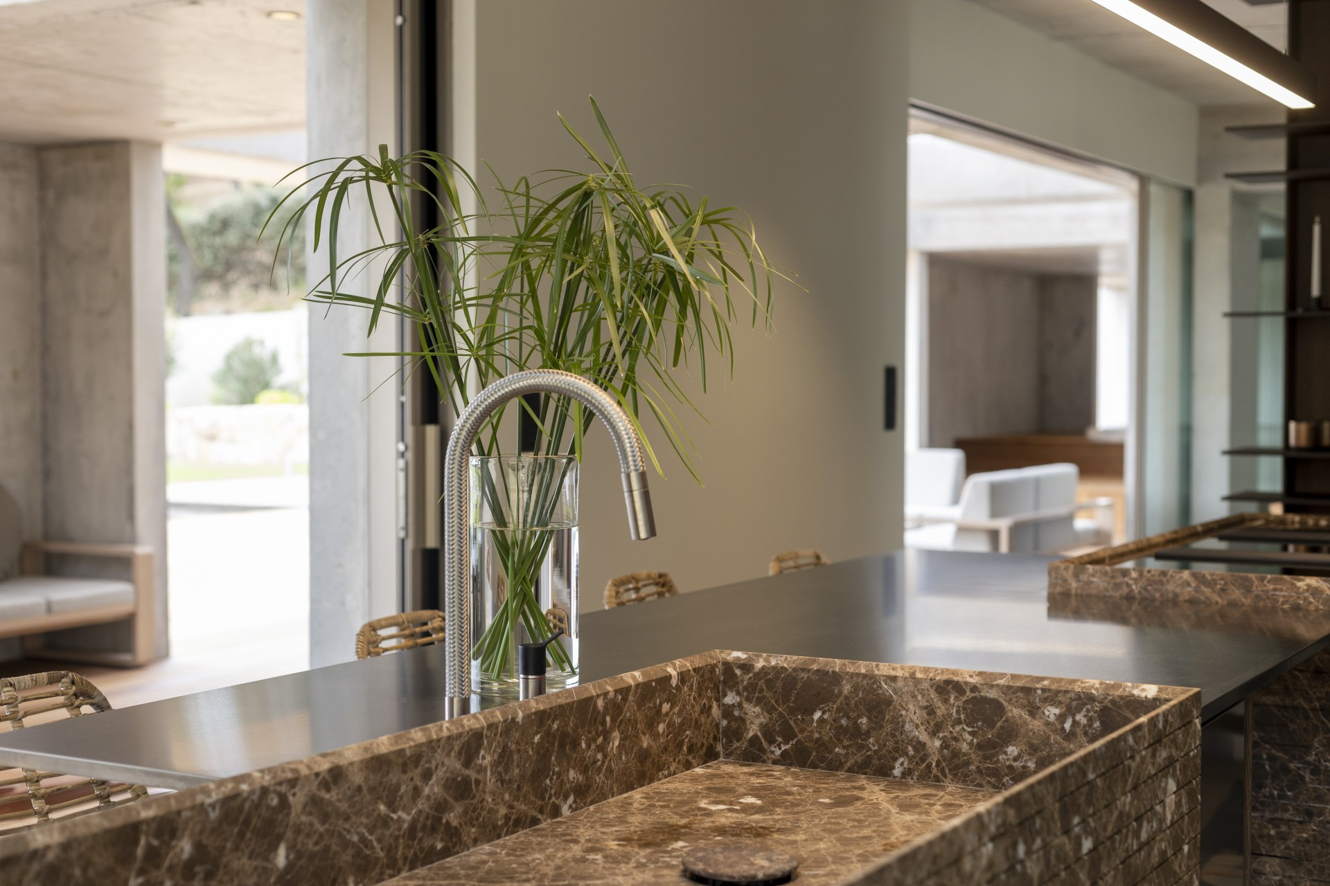 Propriano Luxury Rental Villa Pyrale Kitchen 4