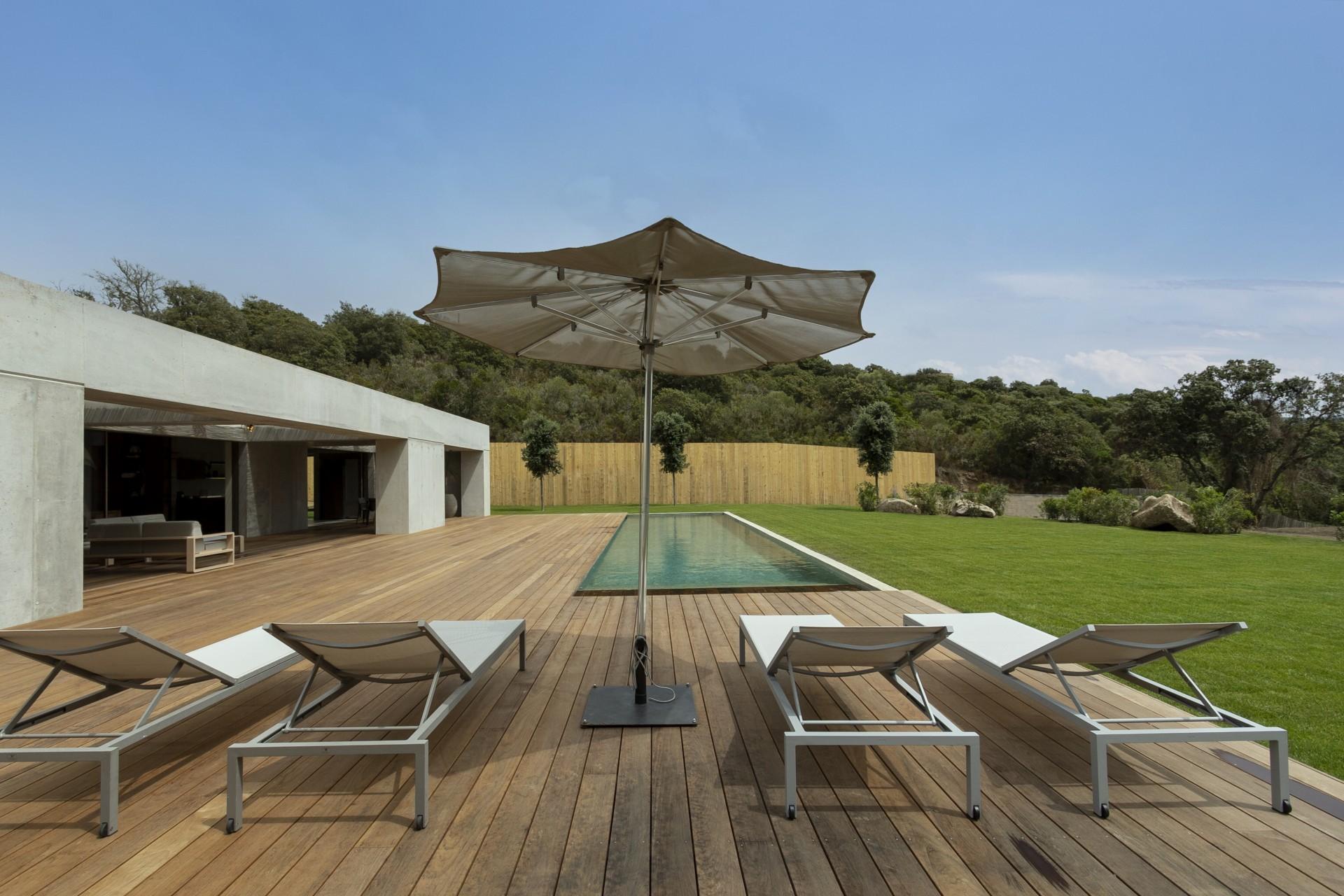 Propriano Luxury Rental Villa Pyrale Pool
