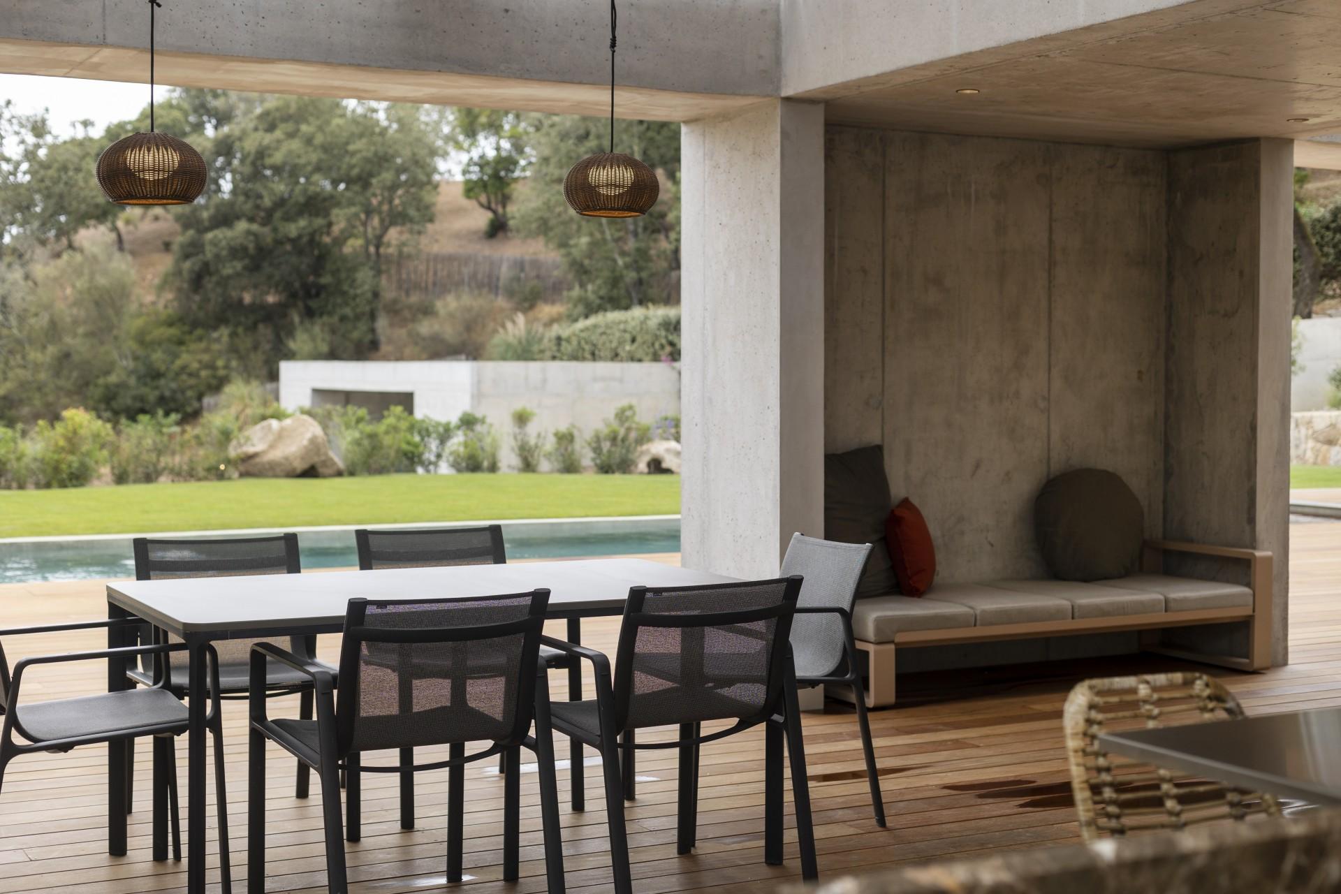 Propriano Luxury Rental Villa Pyrale Terrace 3