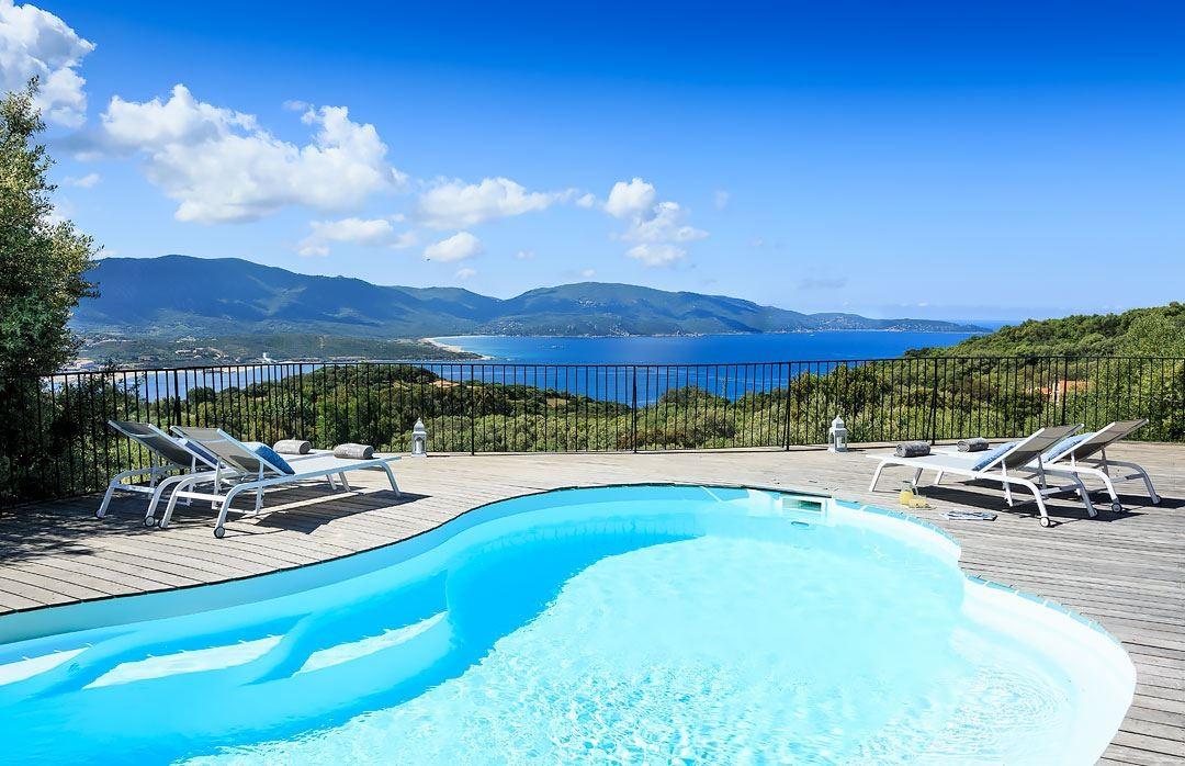 Propriano Location Villa Luxe Quilary Piscine