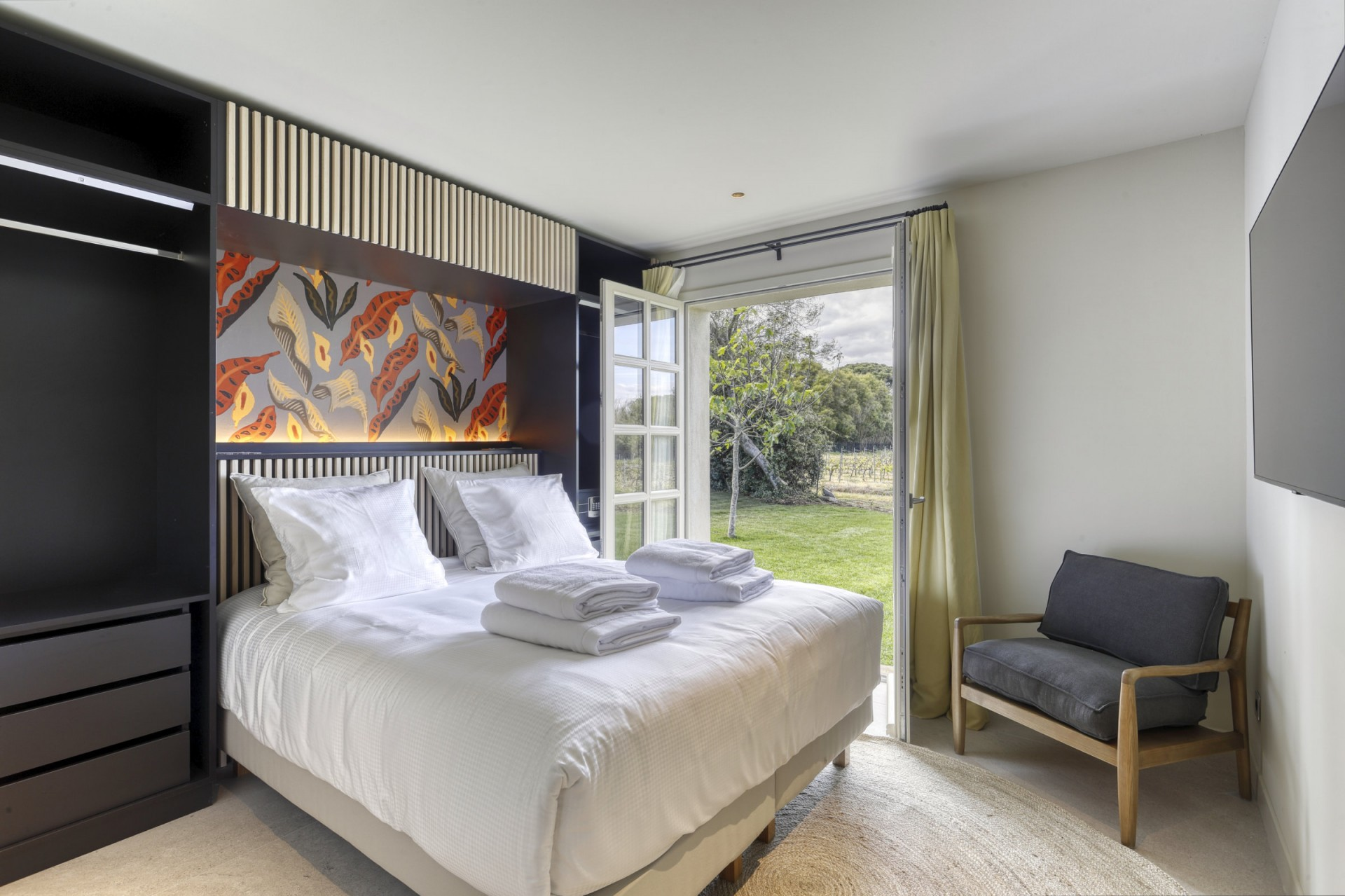 Ramatuelle Location Villa Luxe Bomakite Chambre1