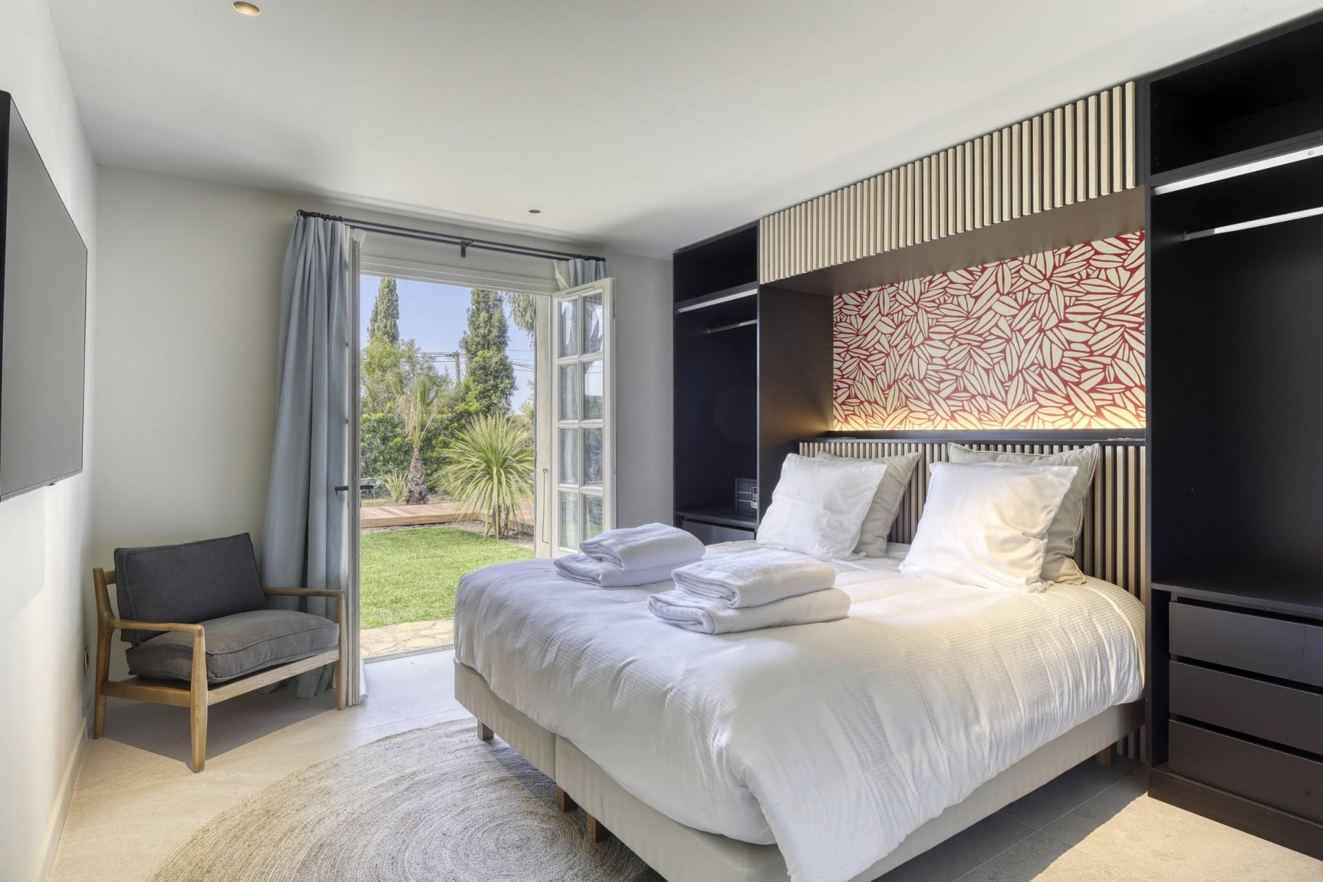 Ramatuelle Location Villa Luxe Bomakite Chambre4