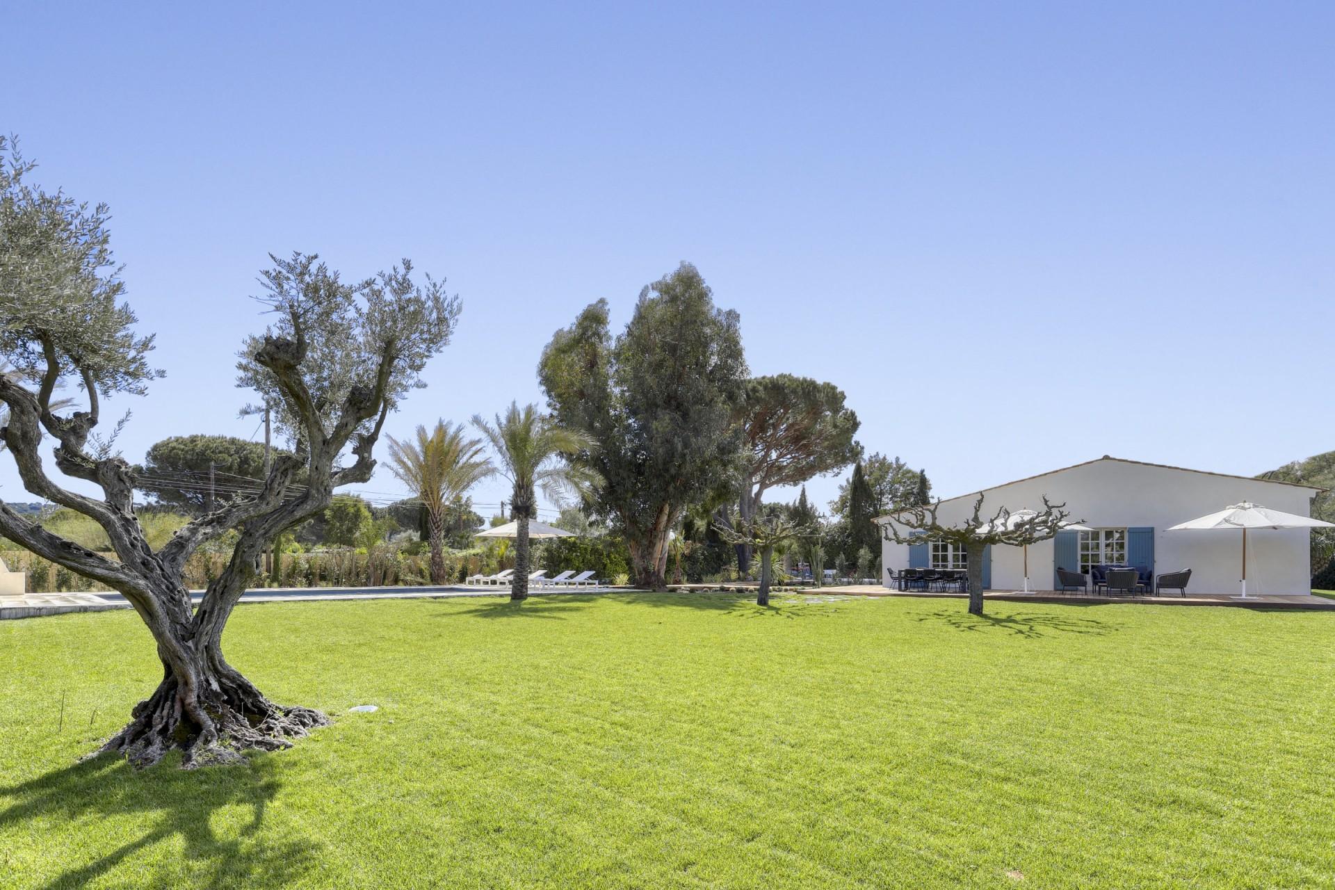 Ramatuelle Location Villa Luxe Bomakite Jardin