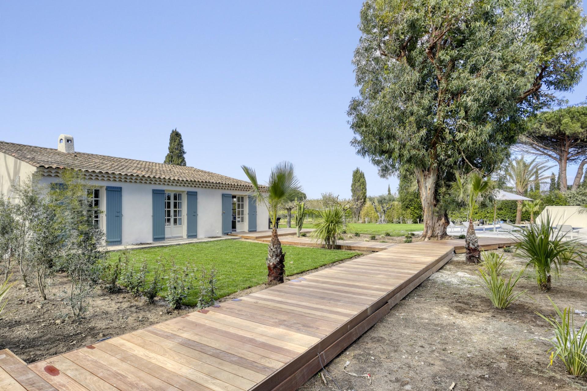 Ramatuelle Location Villa Luxe Bomakite Jardin2