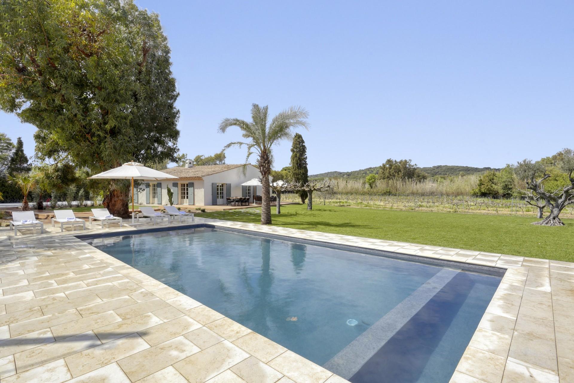Ramatuelle Location Villa Luxe Bomakite Piscine