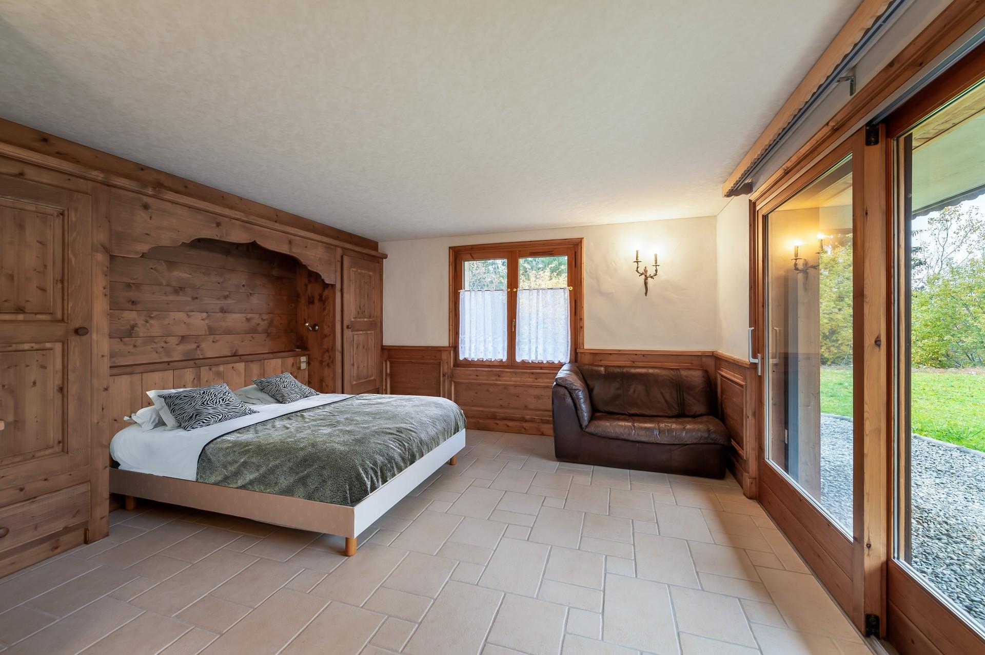 Saint Gervais Luxury Rental Chalet Galena Bedroom