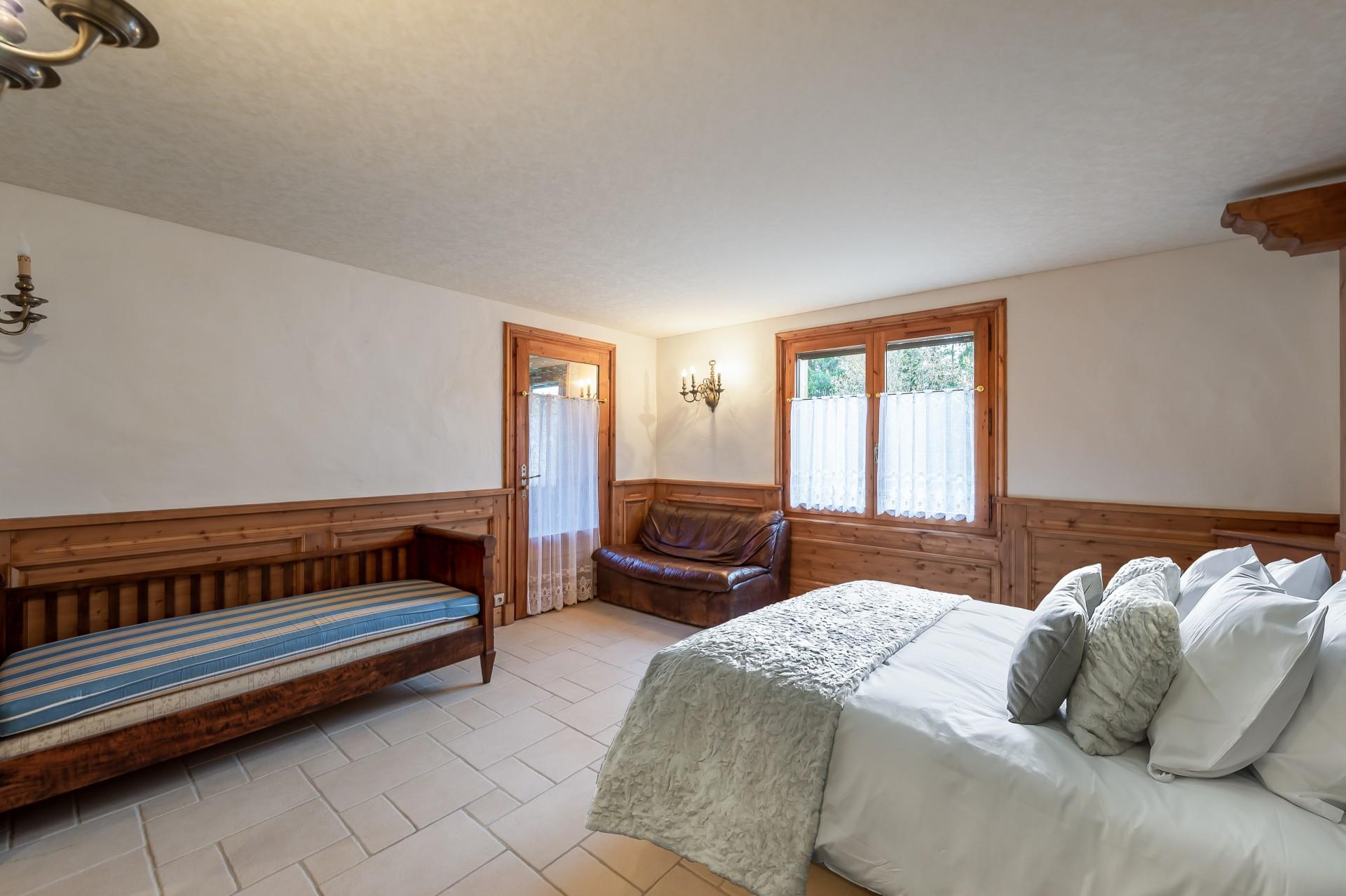 Saint Gervais Luxury Rental Chalet Galena Bedroom 3