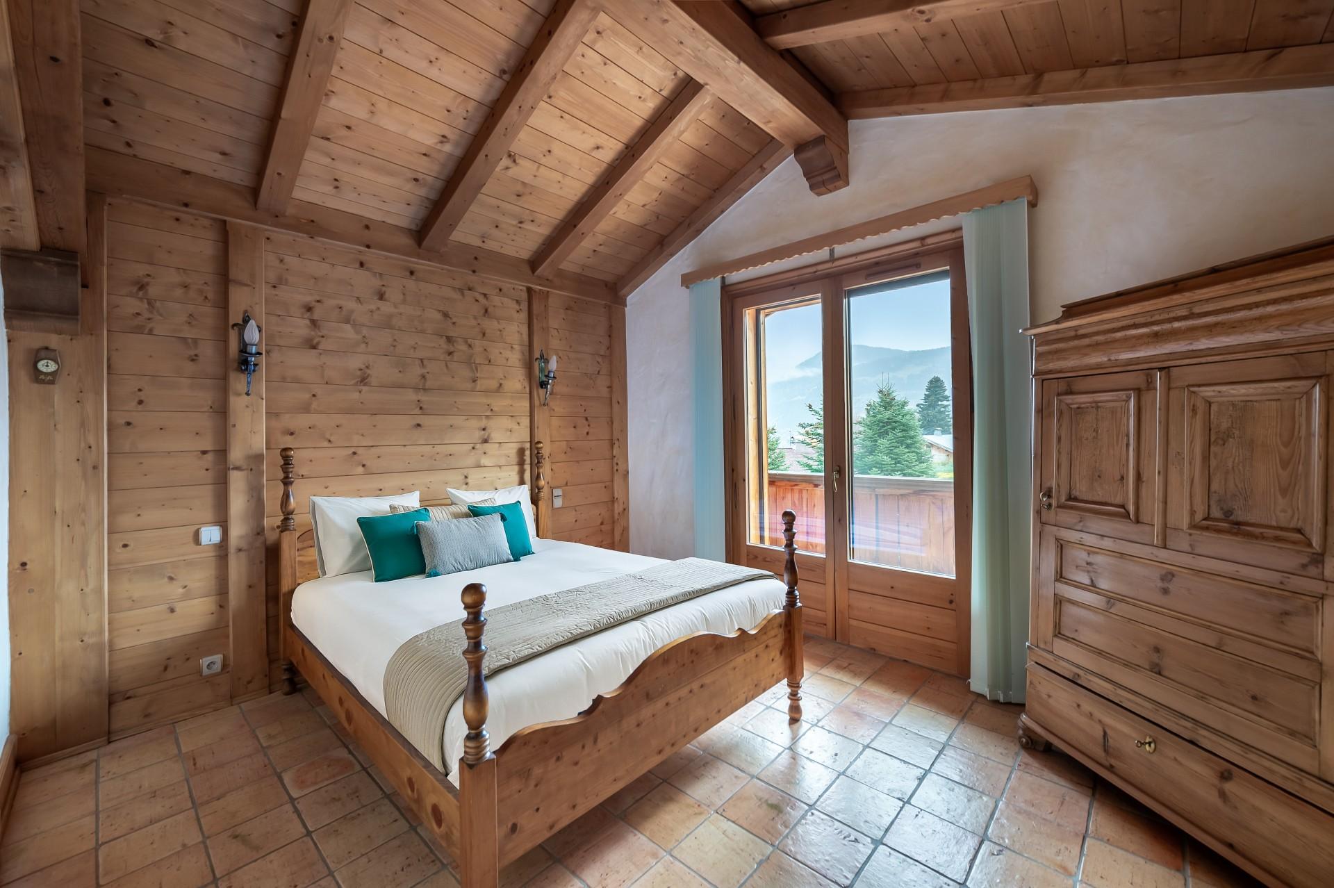 Saint Gervais Luxury Rental Chalet Galena Bedroom 4