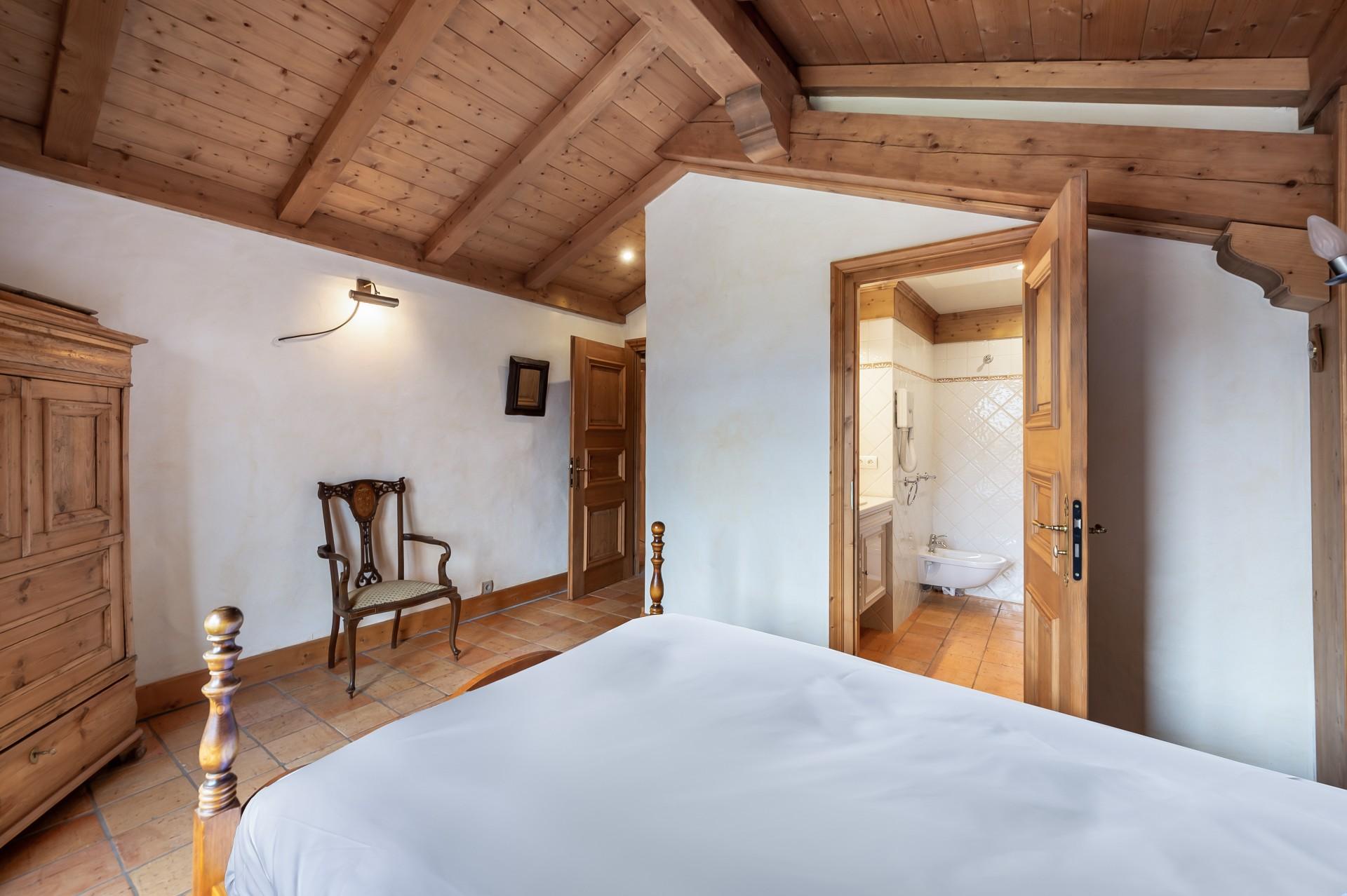 Saint Gervais Luxury Rental Chalet Galena Bedroom 5