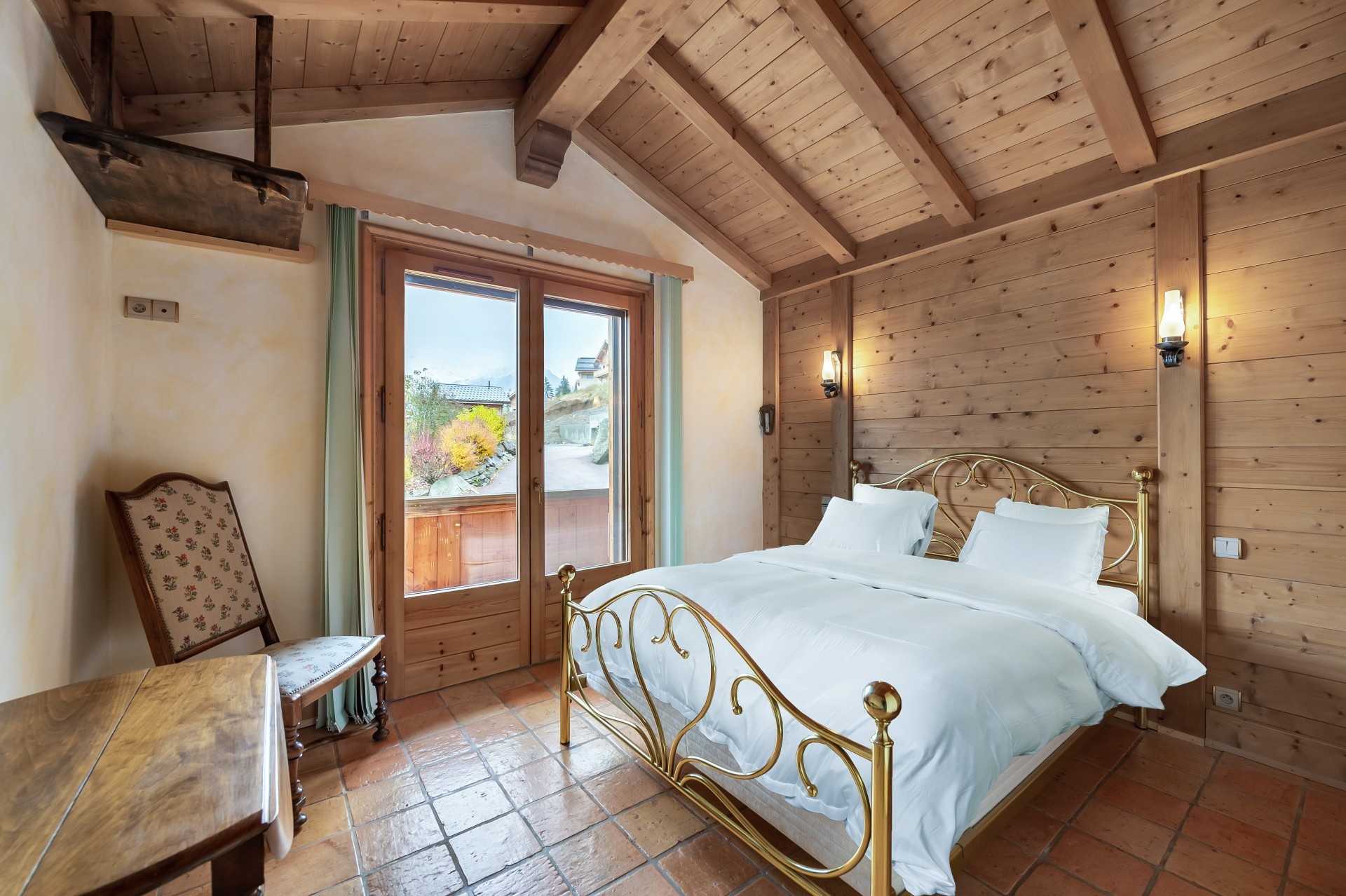 Saint Gervais Luxury Rental Chalet Galena Bedroom 6