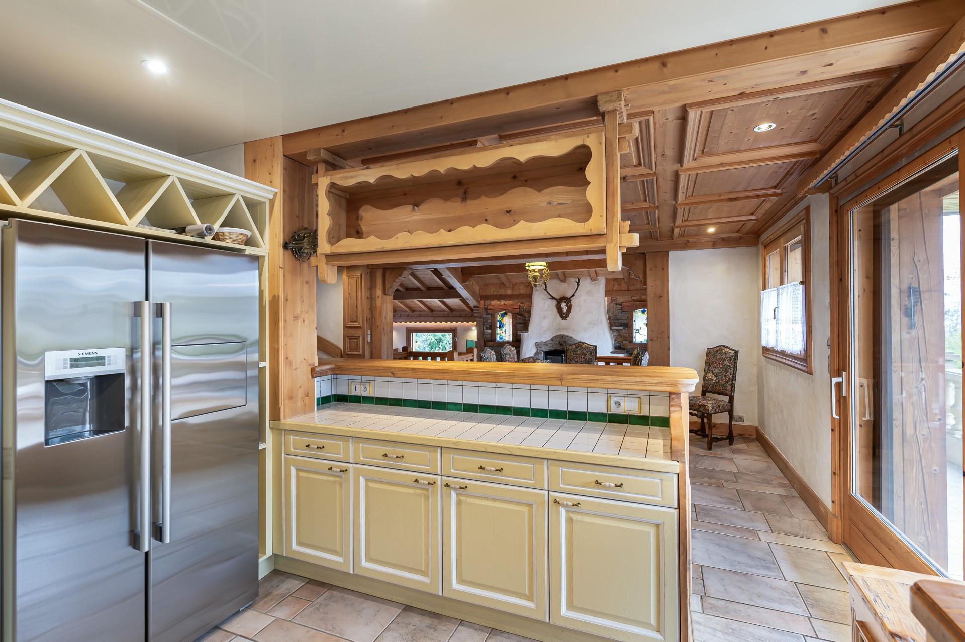 Saint Gervais Luxury Rental Chalet Galena Kitchen 2