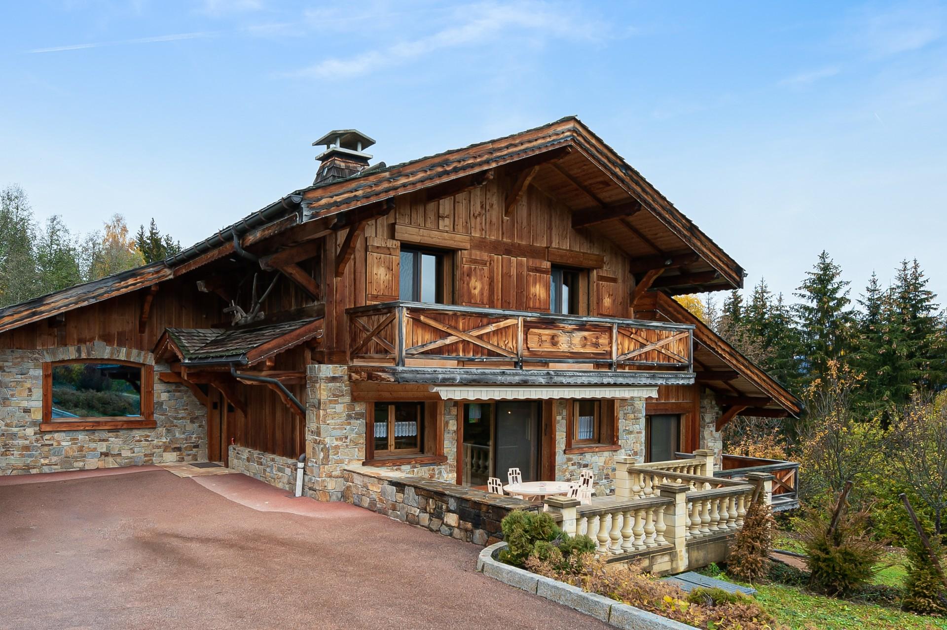 Saint Gervais Luxury Rental Chalet Galena Outdoor