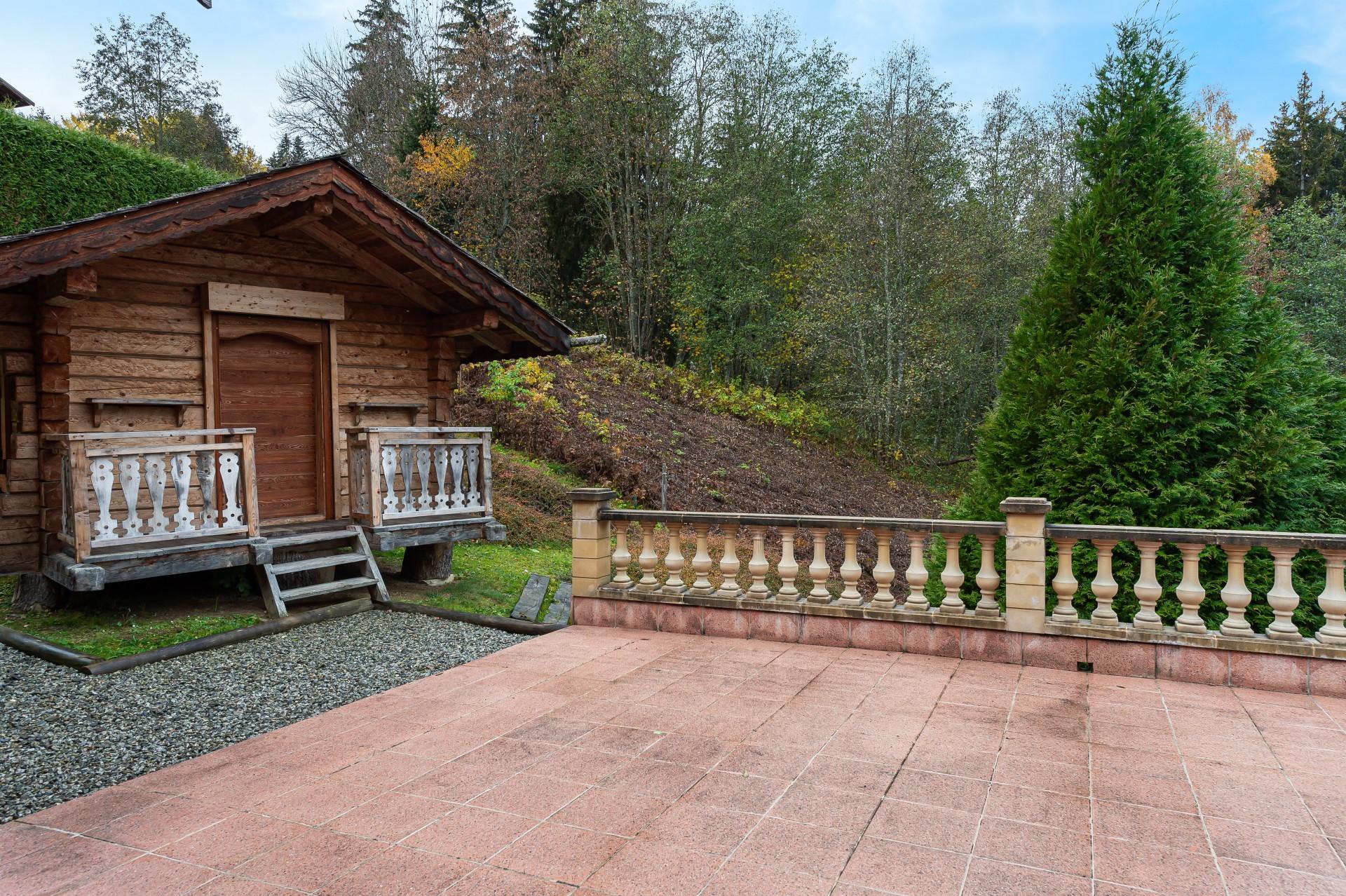 Saint Gervais Luxury Rental Chalet Galena Terrace