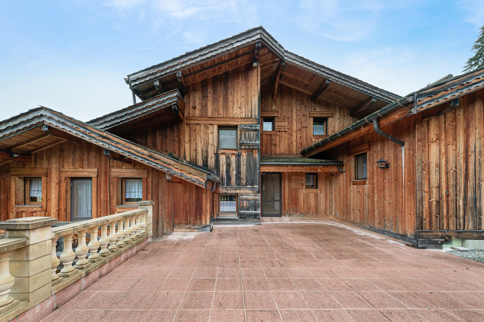 Saint Gervais Luxury Rental Chalet Galena Terrace 3