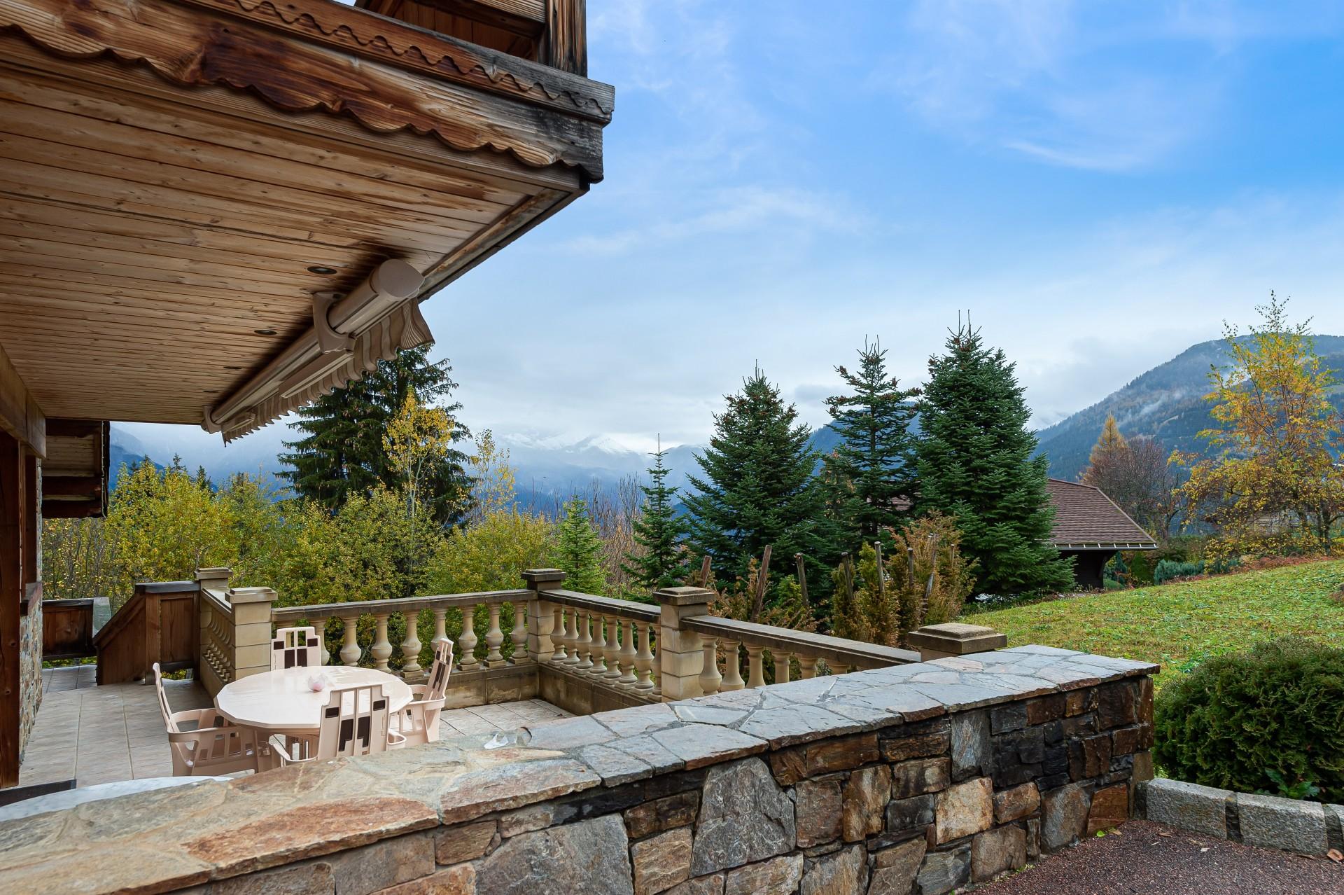 Saint Gervais Luxury Rental Chalet Galena Terrace 4