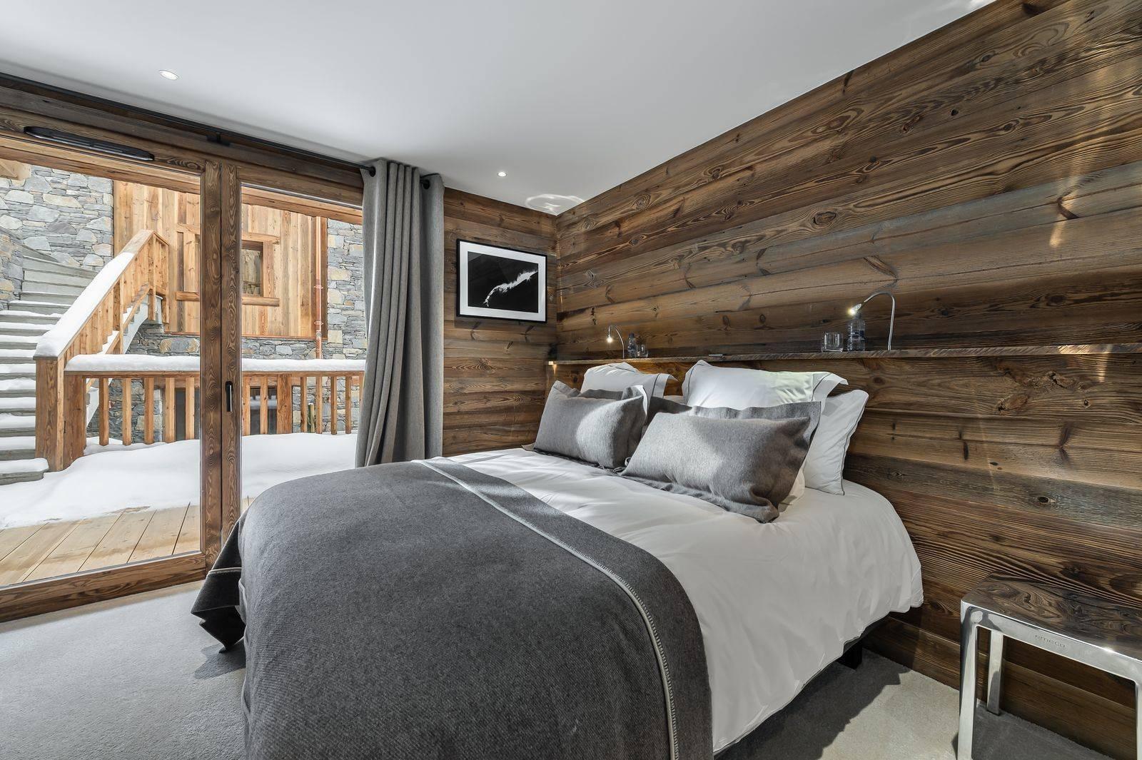 Saint Martin De Belleville Luxury Rental Chalet Ipaliu Bedroom