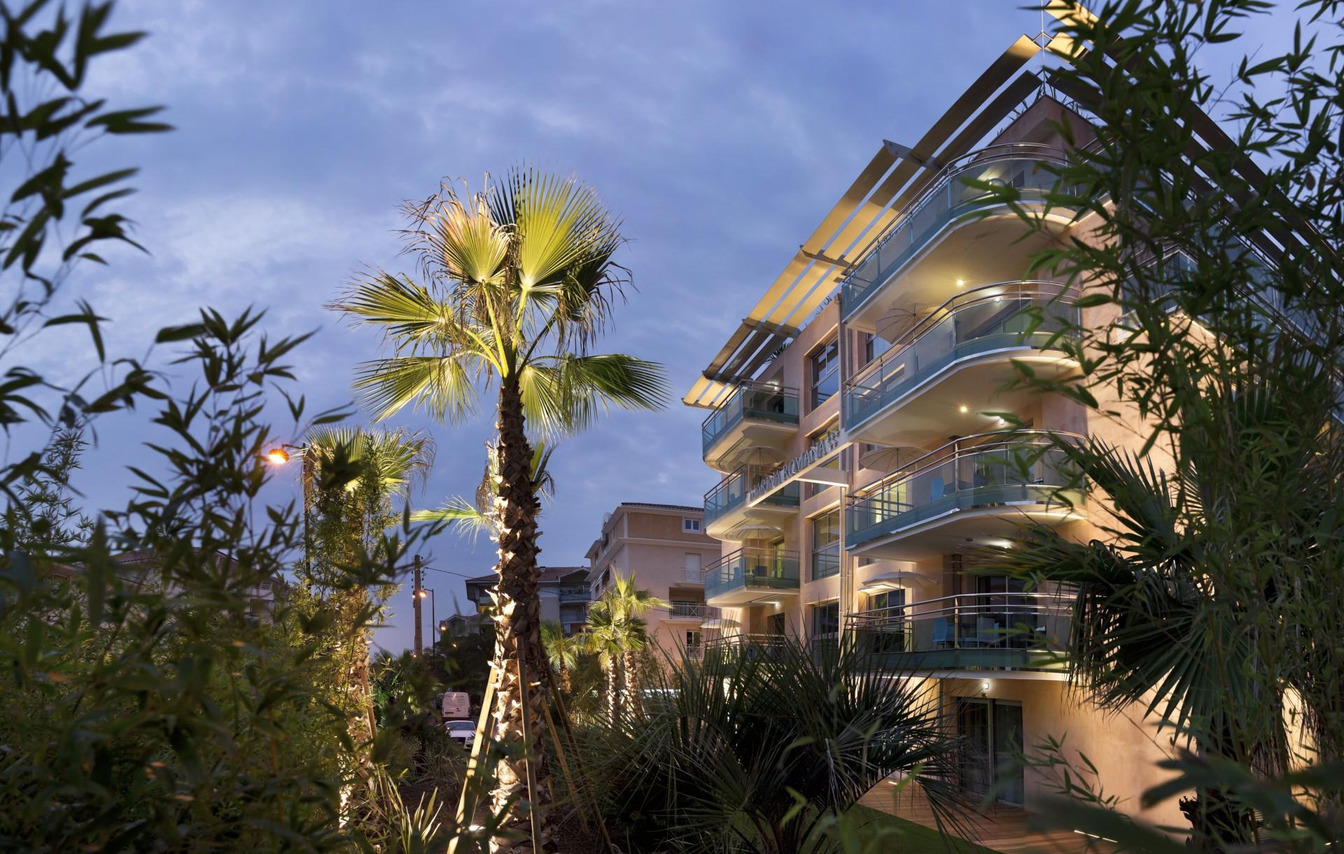 Saint Raphaël Location Appartement Dans Résidence Luxe Serratule Extérieur