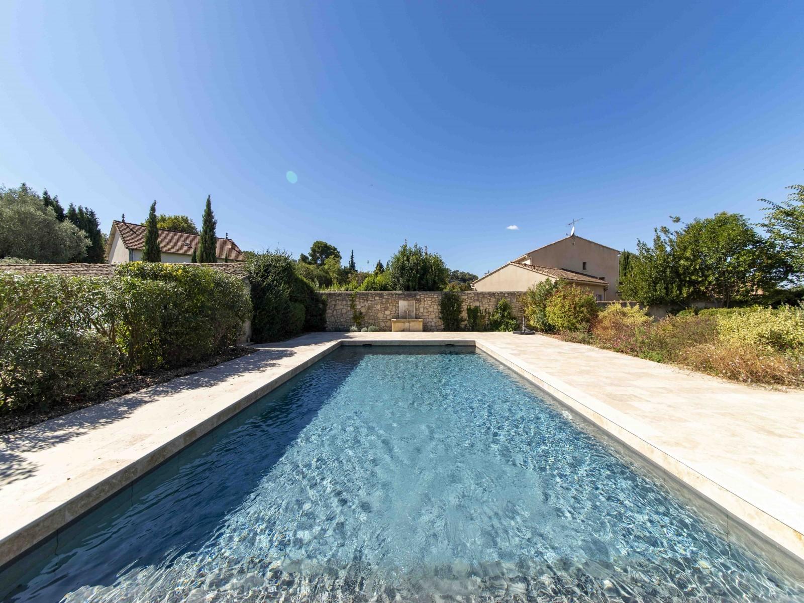 Saint Rémy De Provence Location Villa Luxe Maho Piscine 3