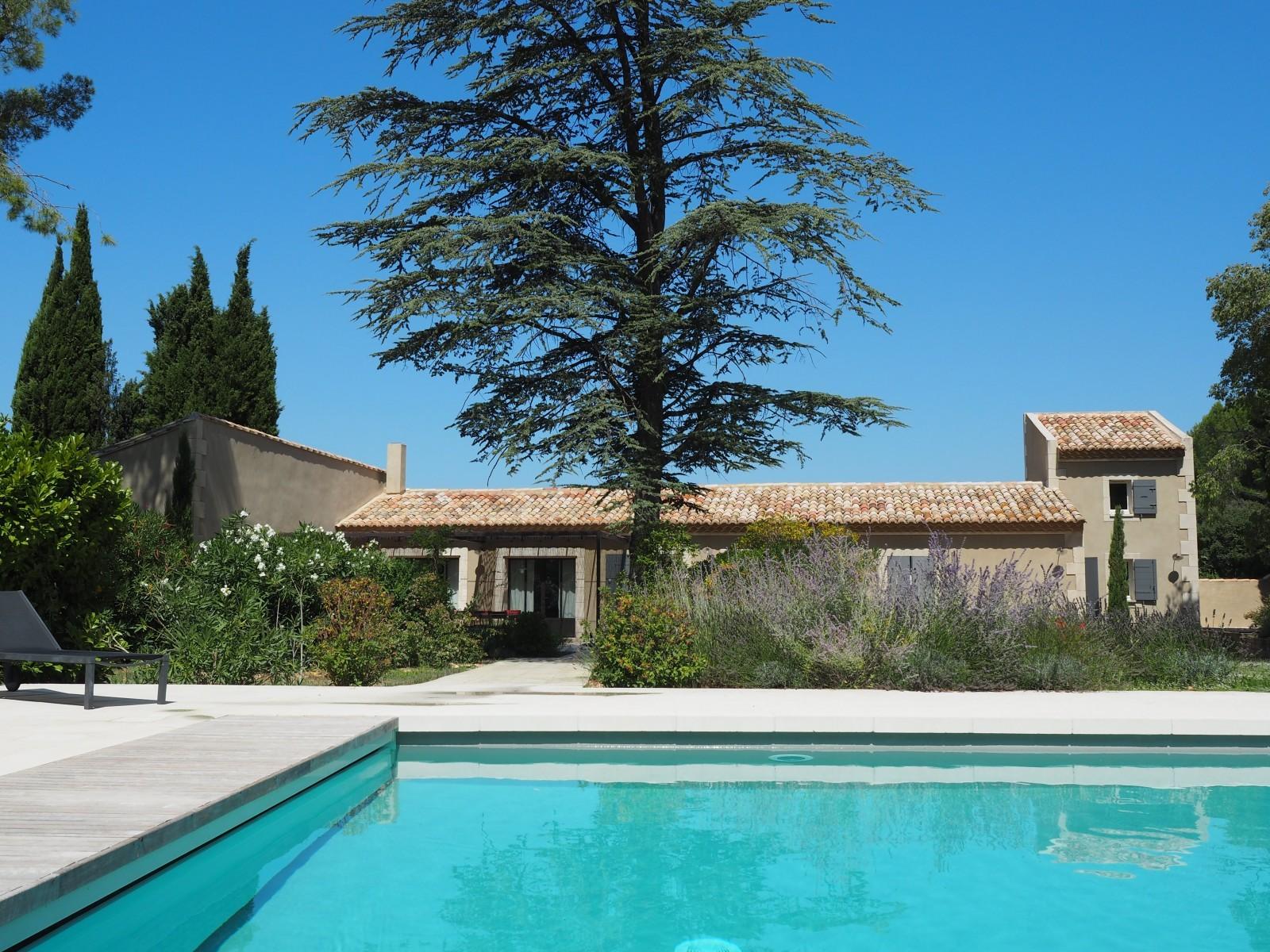 Saint Rémy De Provence Location Villa Luxe Maholita Piscine 2