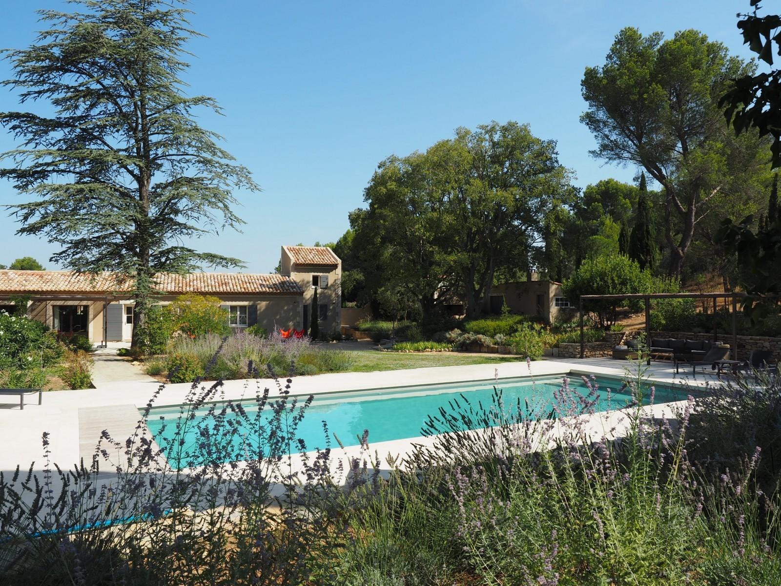 Saint Rémy De Provence Location Villa Luxe Maholita Piscine 4