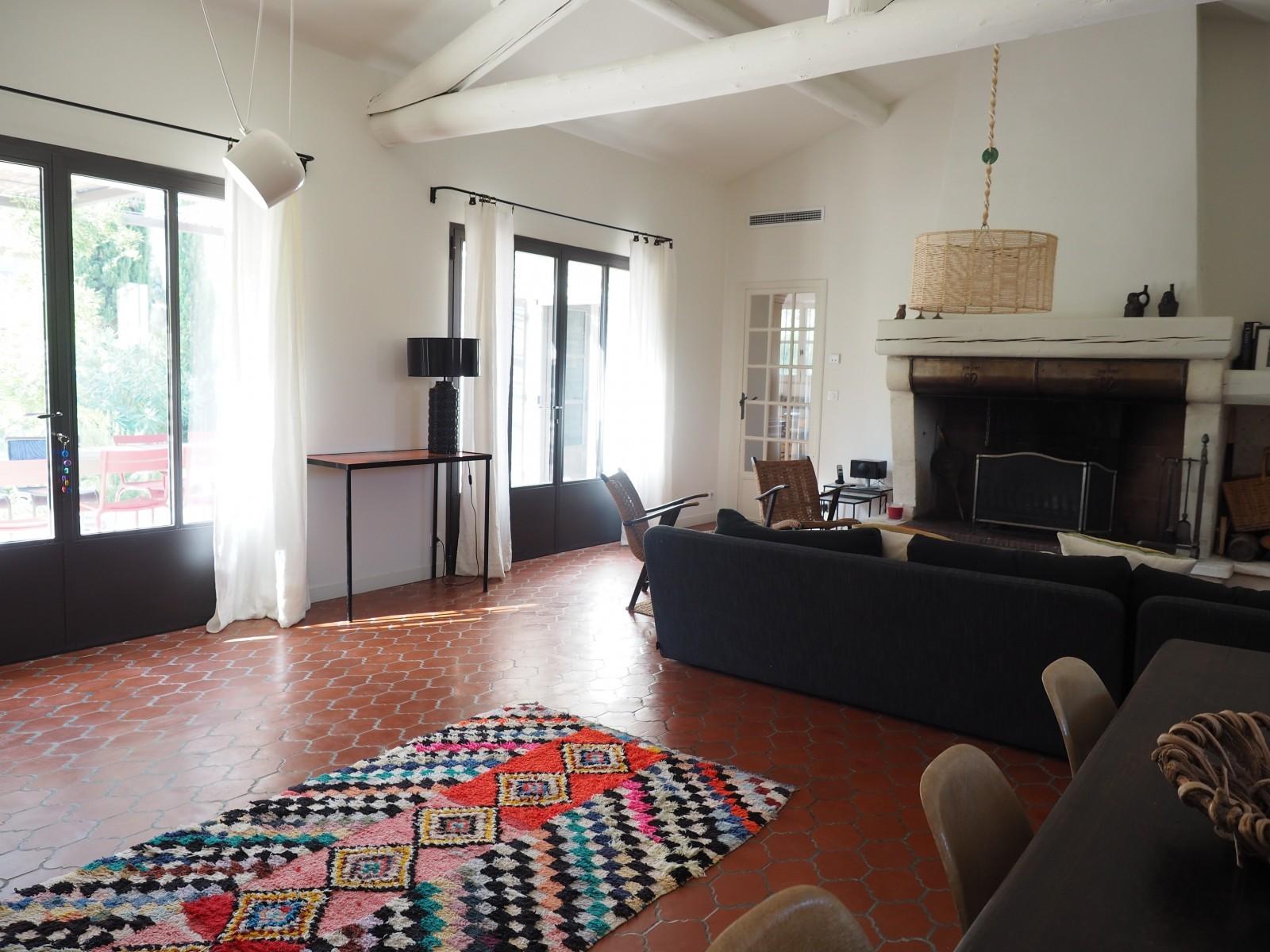 Saint Rémy De Provence Location Villa Luxe Maholita Séjour