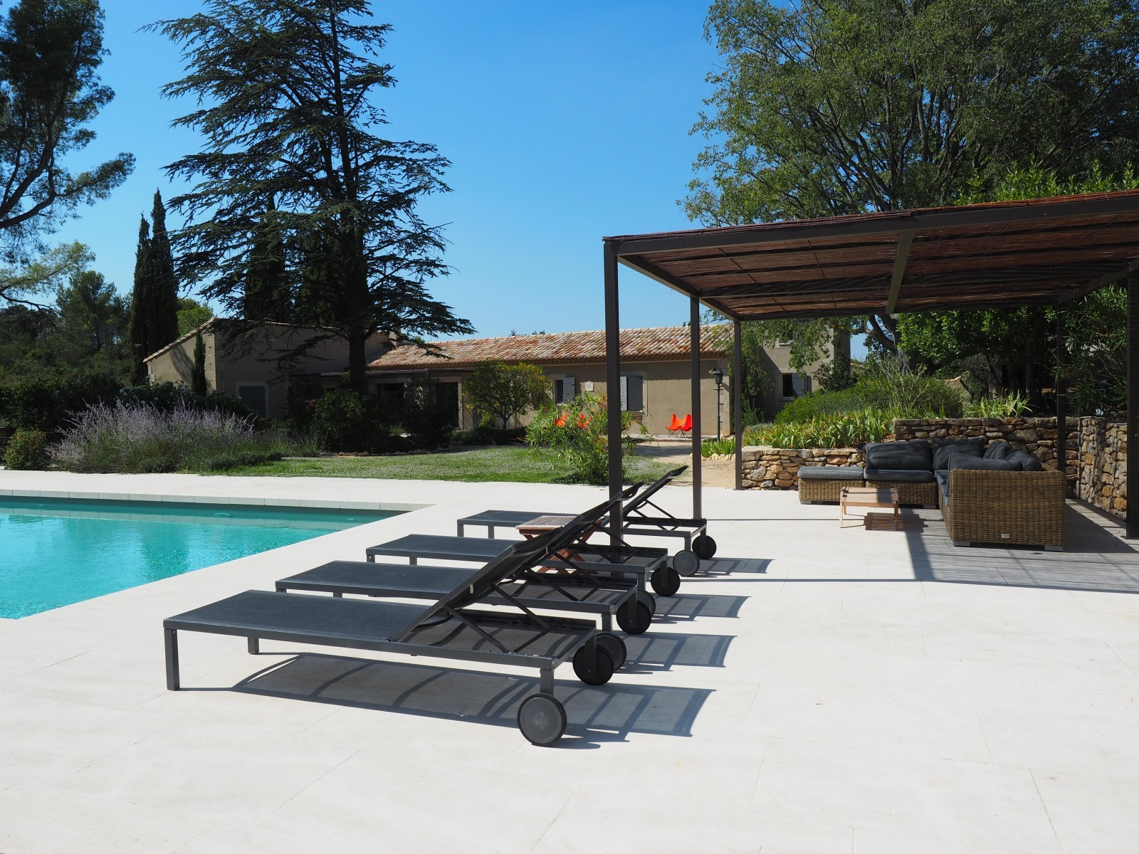 Saint Rémy De Provence Location Villa Luxe Maholita Terrasse