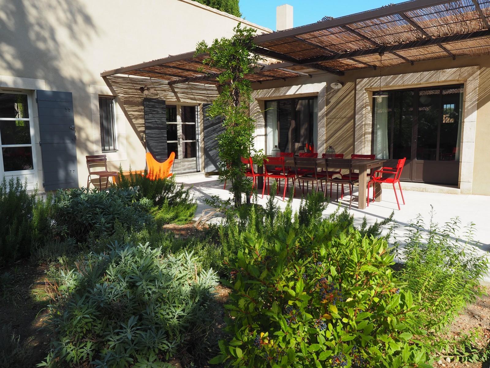 Saint Rémy De Provence Location Villa Luxe Maholita Terrasse Couverte