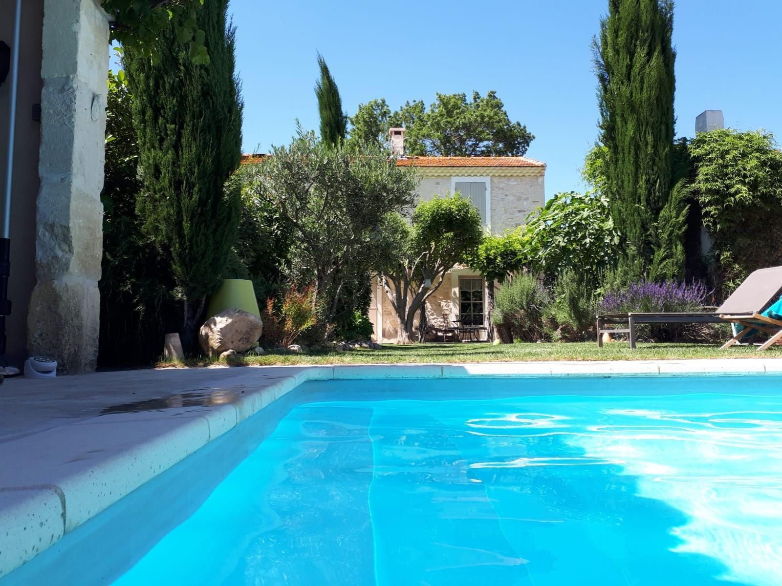 Saint Rémy De Provence Luxury Rental Villa Manina Pool 2