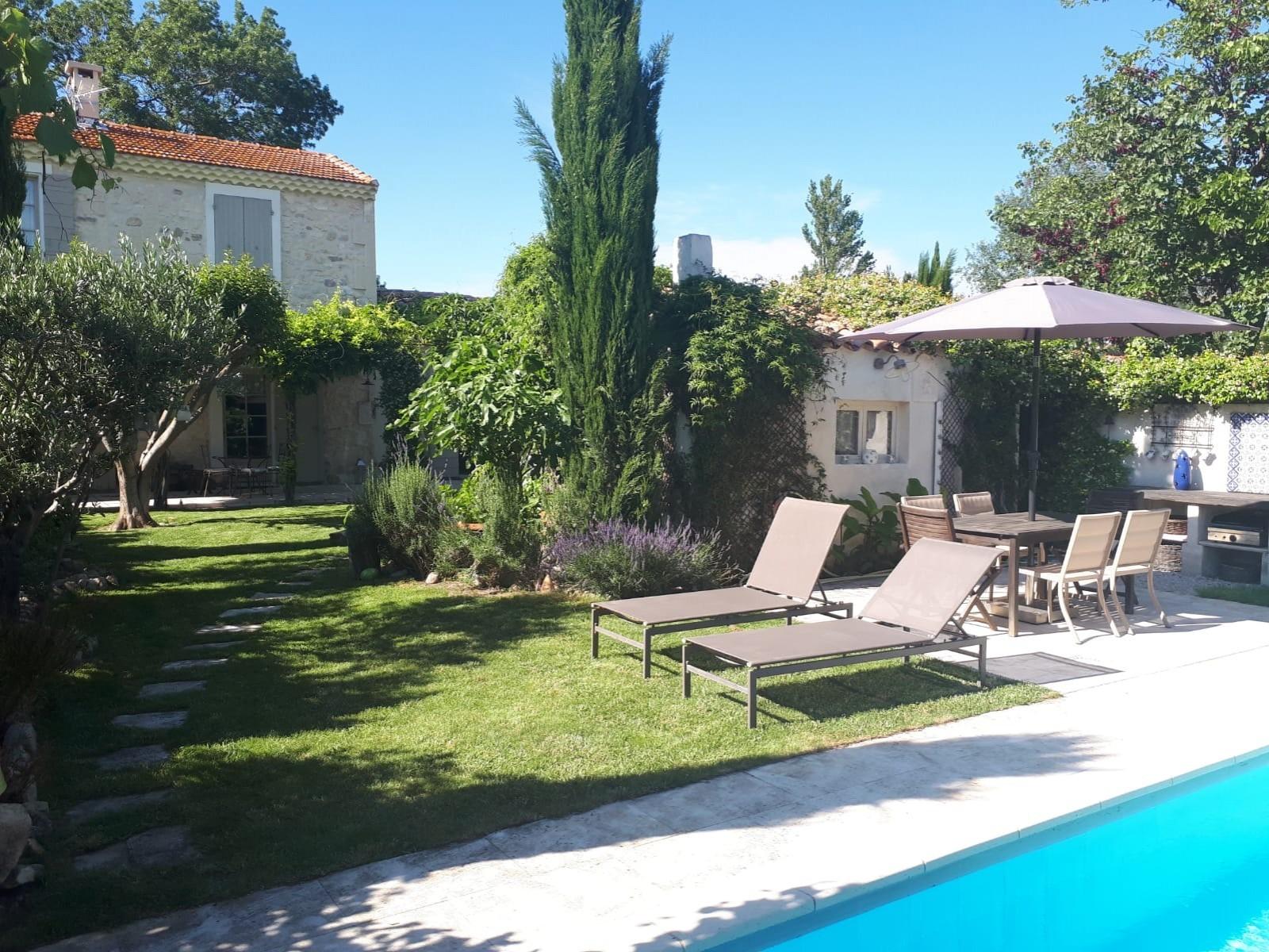 Saint Rémy De Provence Luxury Rental Villa Manina Garden Furniture