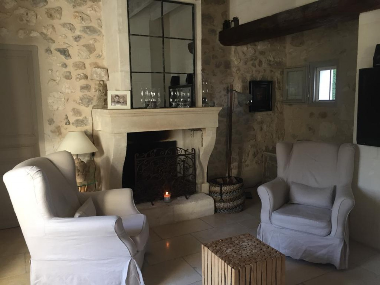 Saint Rémy De Provence Luxury Rental Villa Manina Living Room