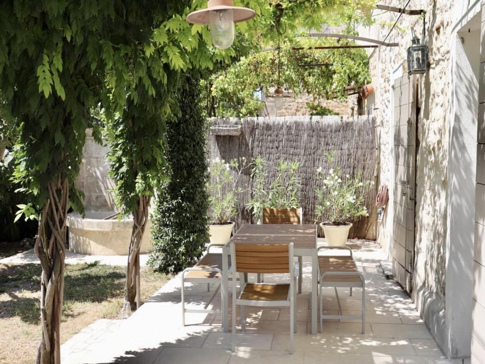 Saint Rémy De Provence Luxury Rental Villa Manina Terrace