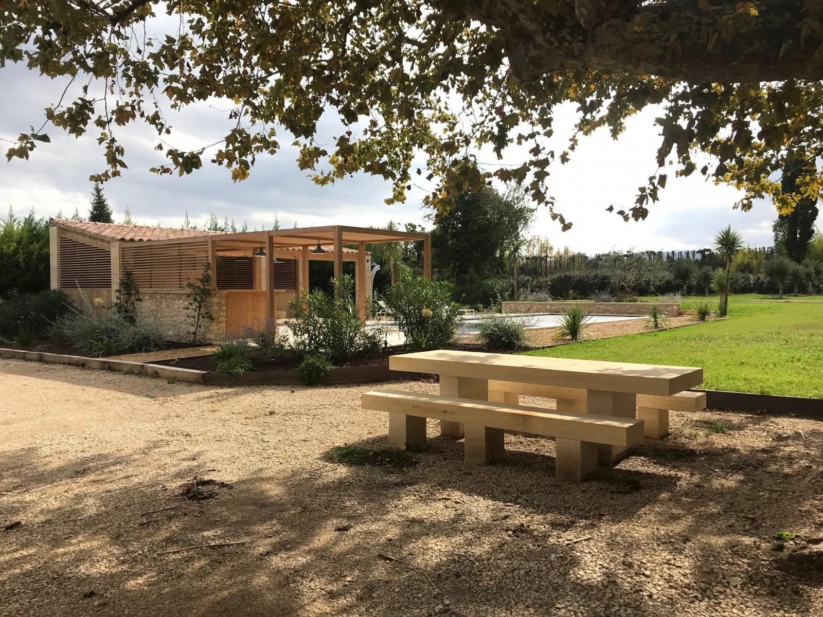 Saint Rémy De Provence Location Villa Luxe Mercasite Exterieur