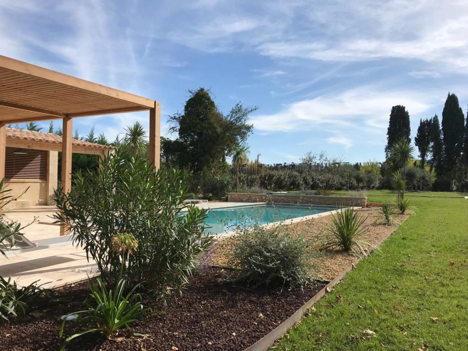 Saint Rémy De Provence Location Villa Luxe Mercasite Jardin