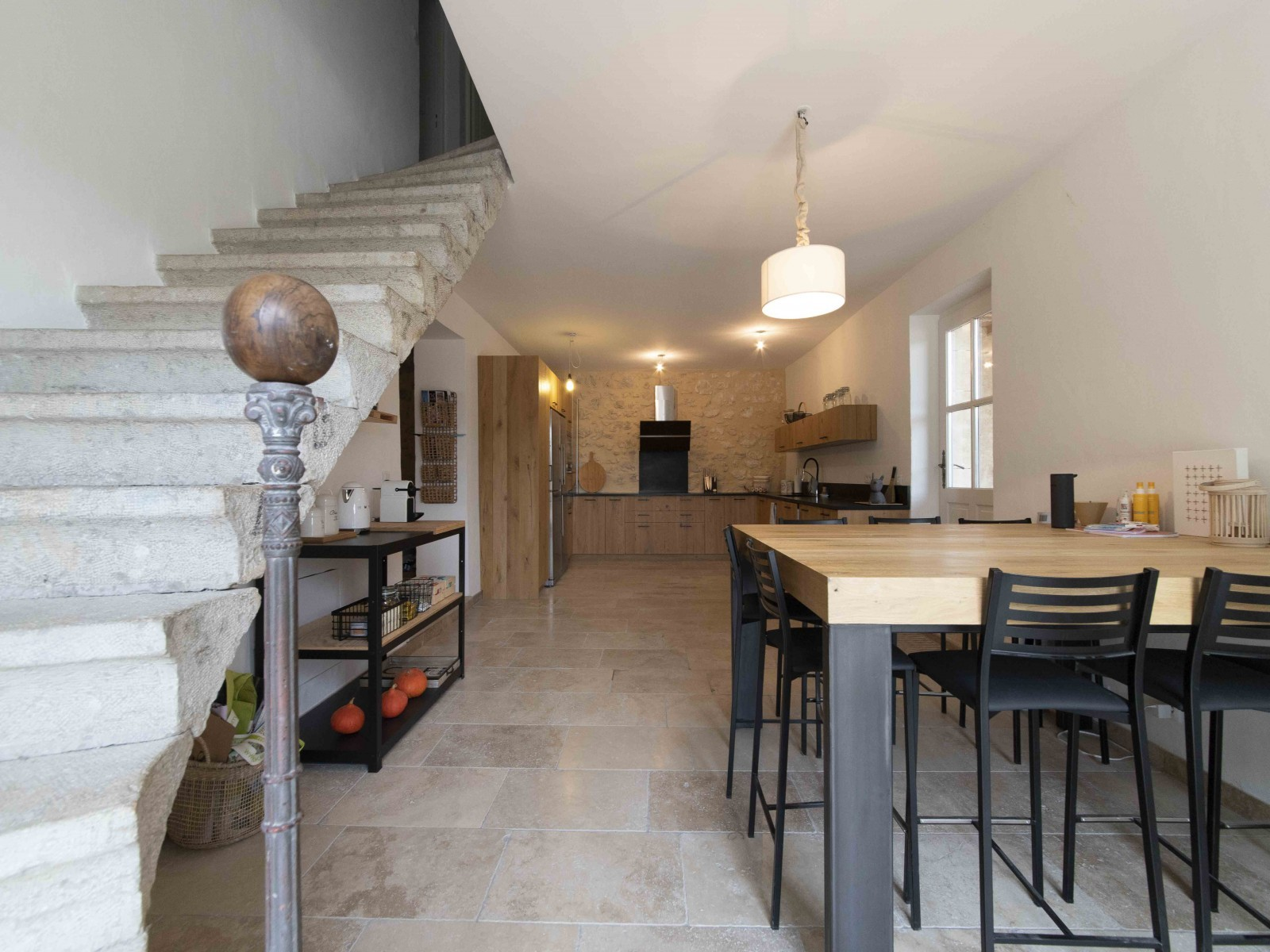 Saint Rémy De Provence Location Villa Luxe Mercasite Salle A Manger