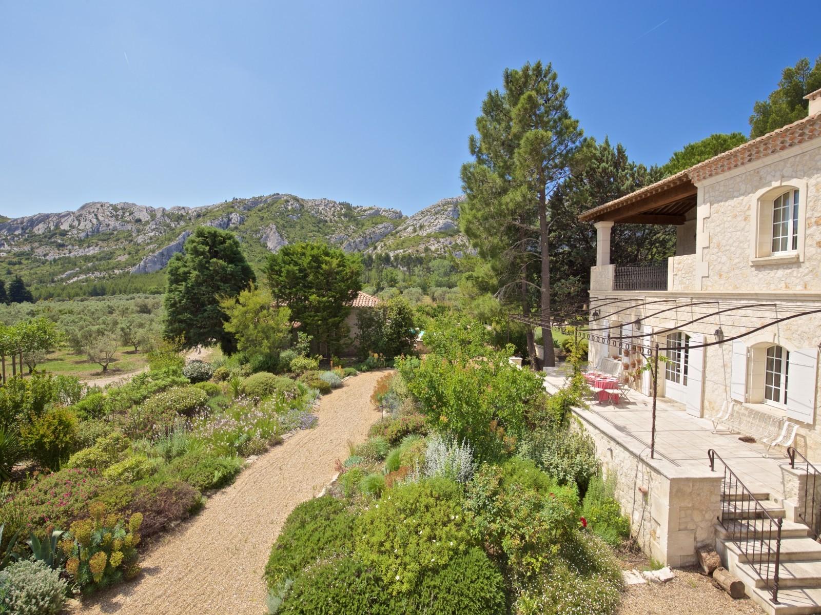 Saint Rémy De Provence Luxury Rental Villa Molduvite Exterior