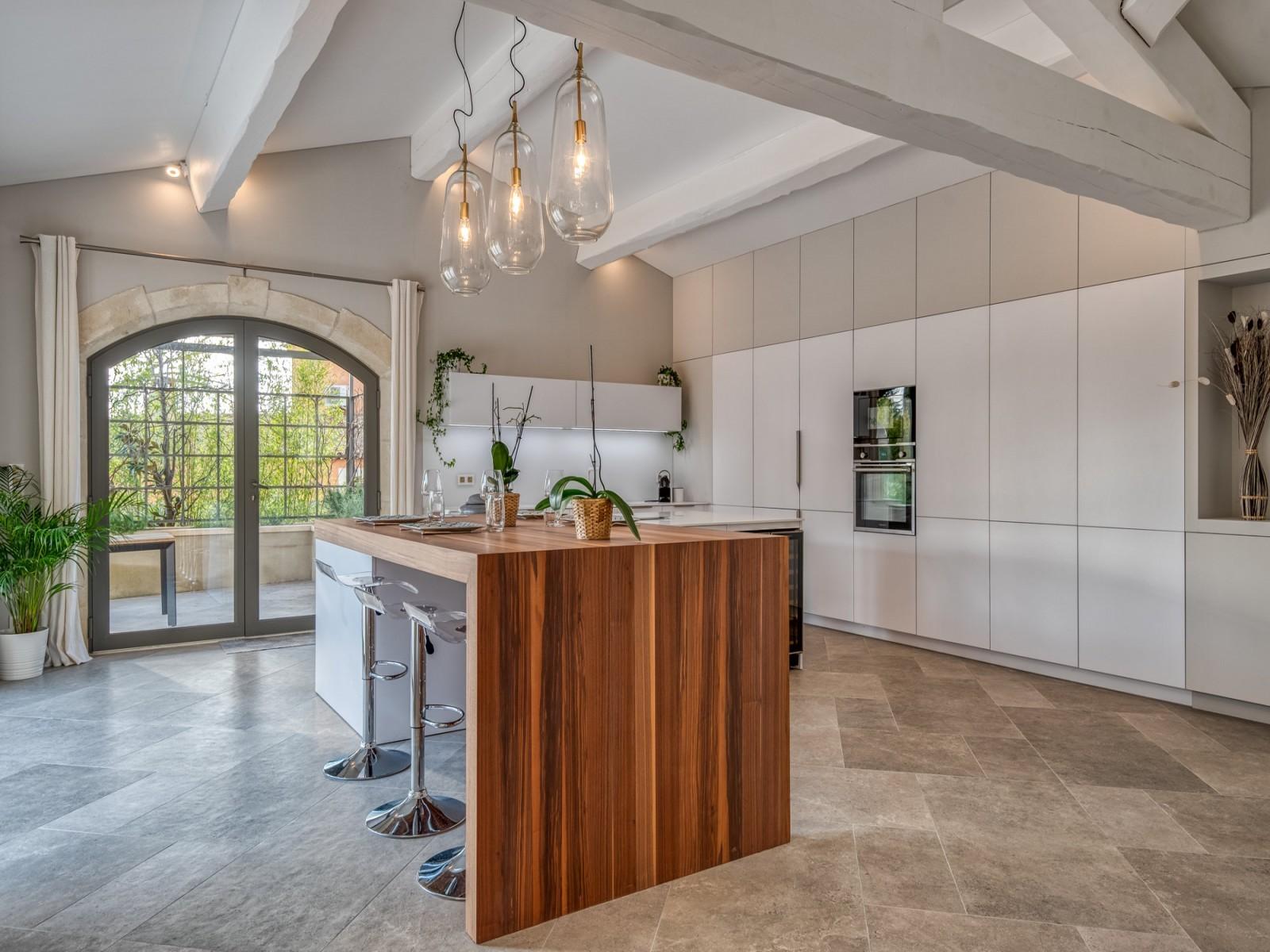 Saint Rémy De Provence Luxury Rental Villa Murcasite Kitchen