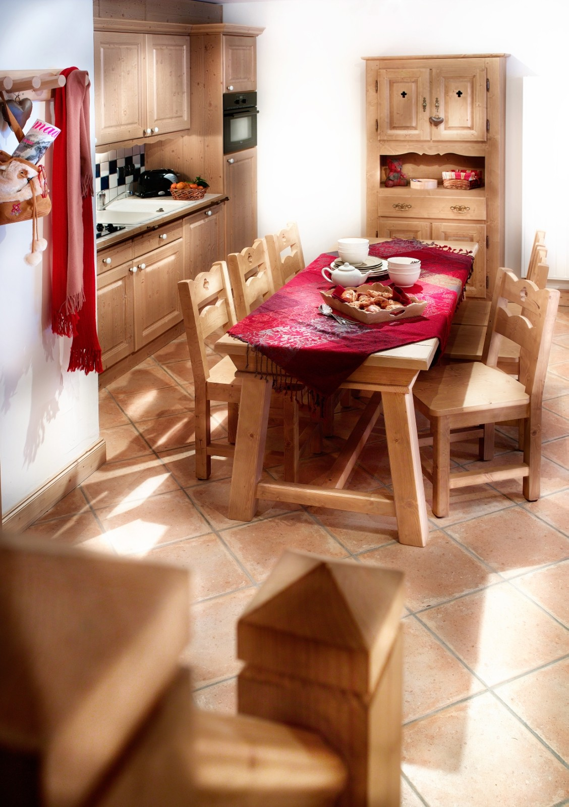 Sainte Foy Tarentaise Location Appartement Luxe Lemanita Cuisine