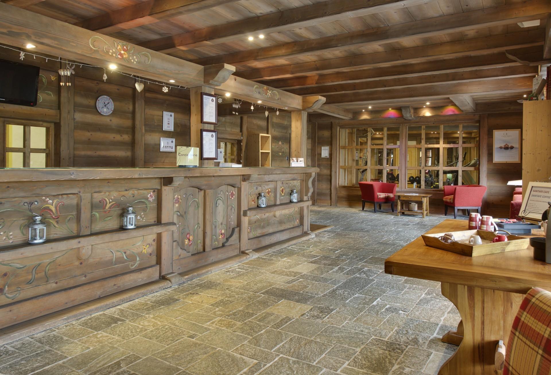Sainte Foy Tarentaise Location Appartement Luxe Lucky Stone Réception 1