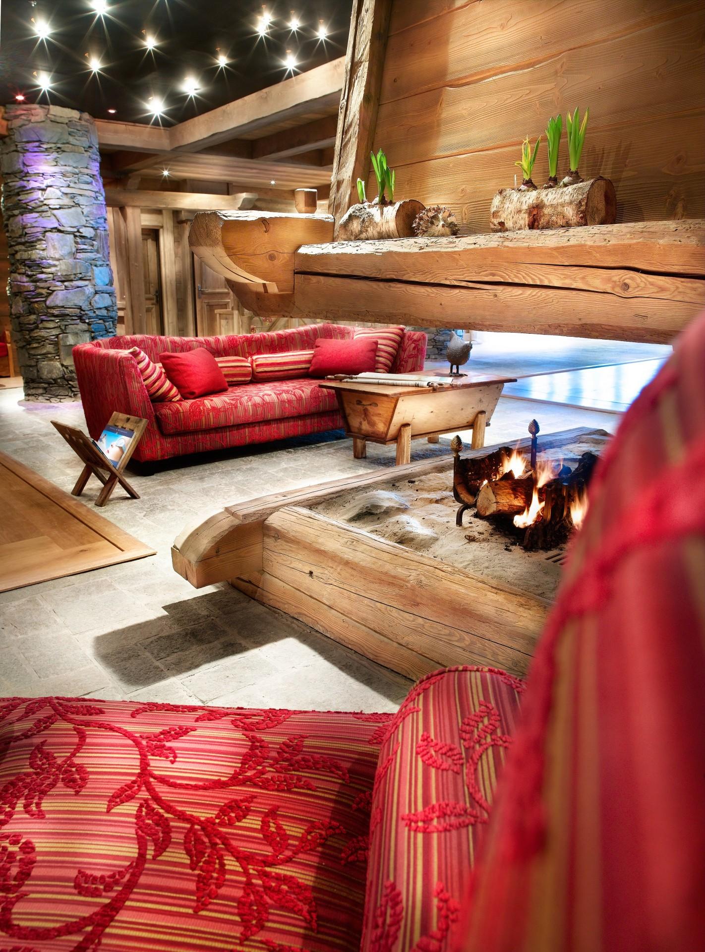 Sainte Foy Tarentaise Location Appartement Luxe Lucky Stone Réception 2