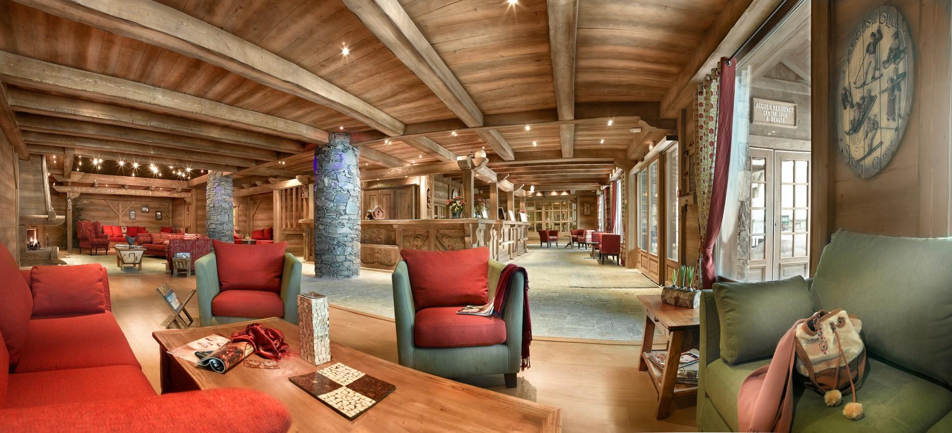 Sainte Foy Tarentaise Location Appartement Luxe Lucky Stone Réception