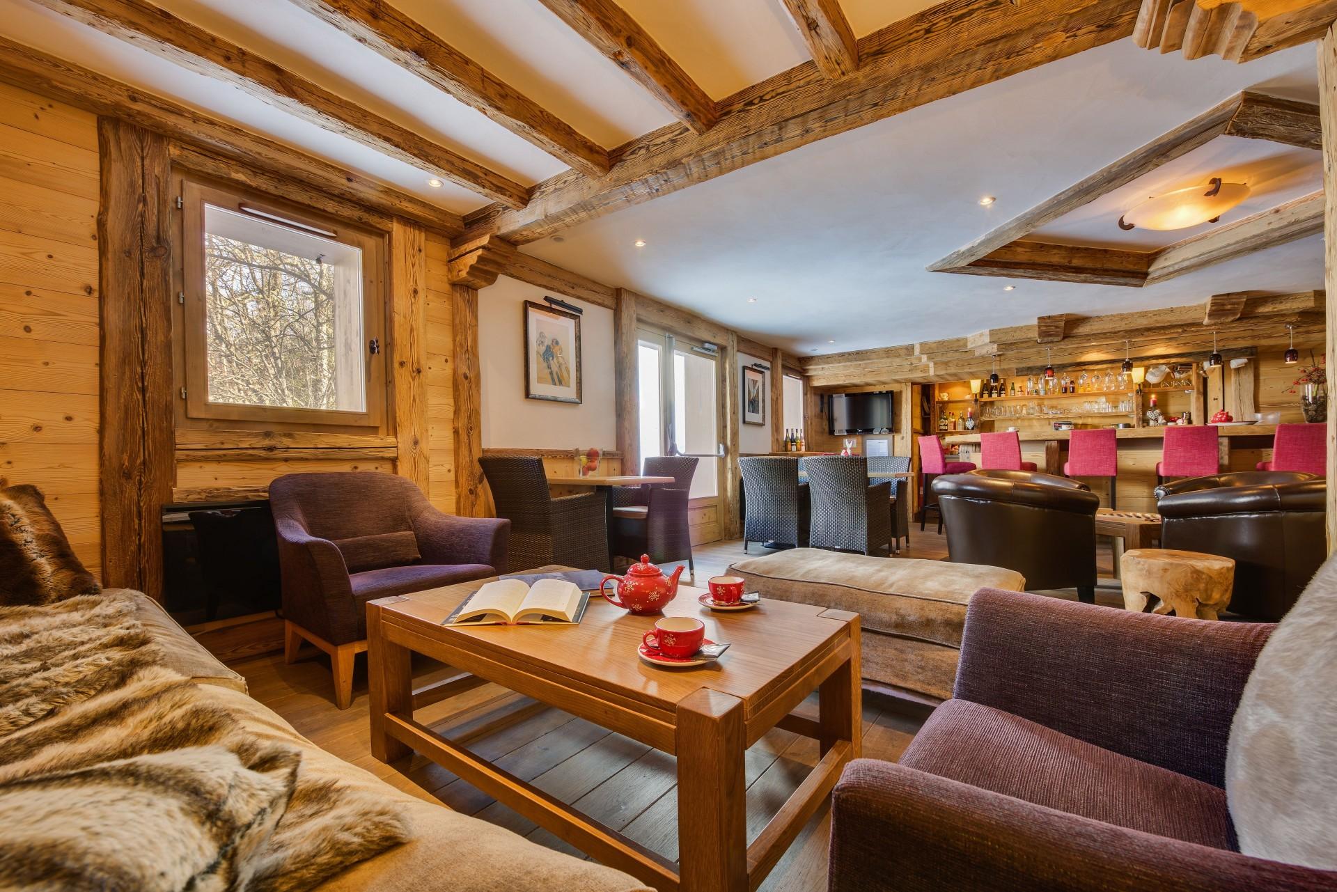 Sainte Foy Tarentaise Location Appartement Luxe Ronite Réception 1