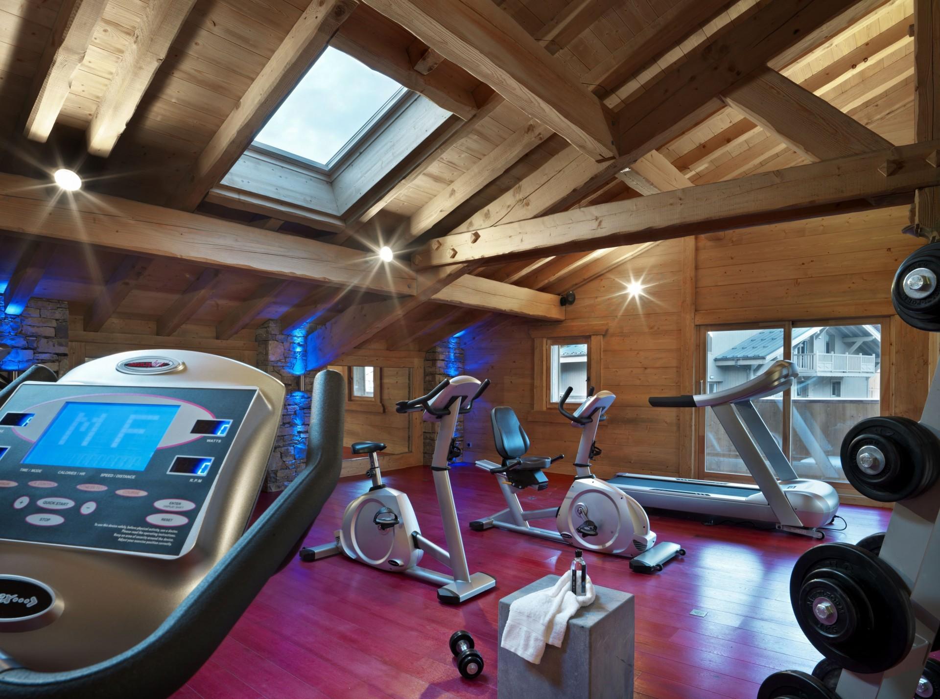 Samoens Location Appartement Luxe Salam Salle De Fitness