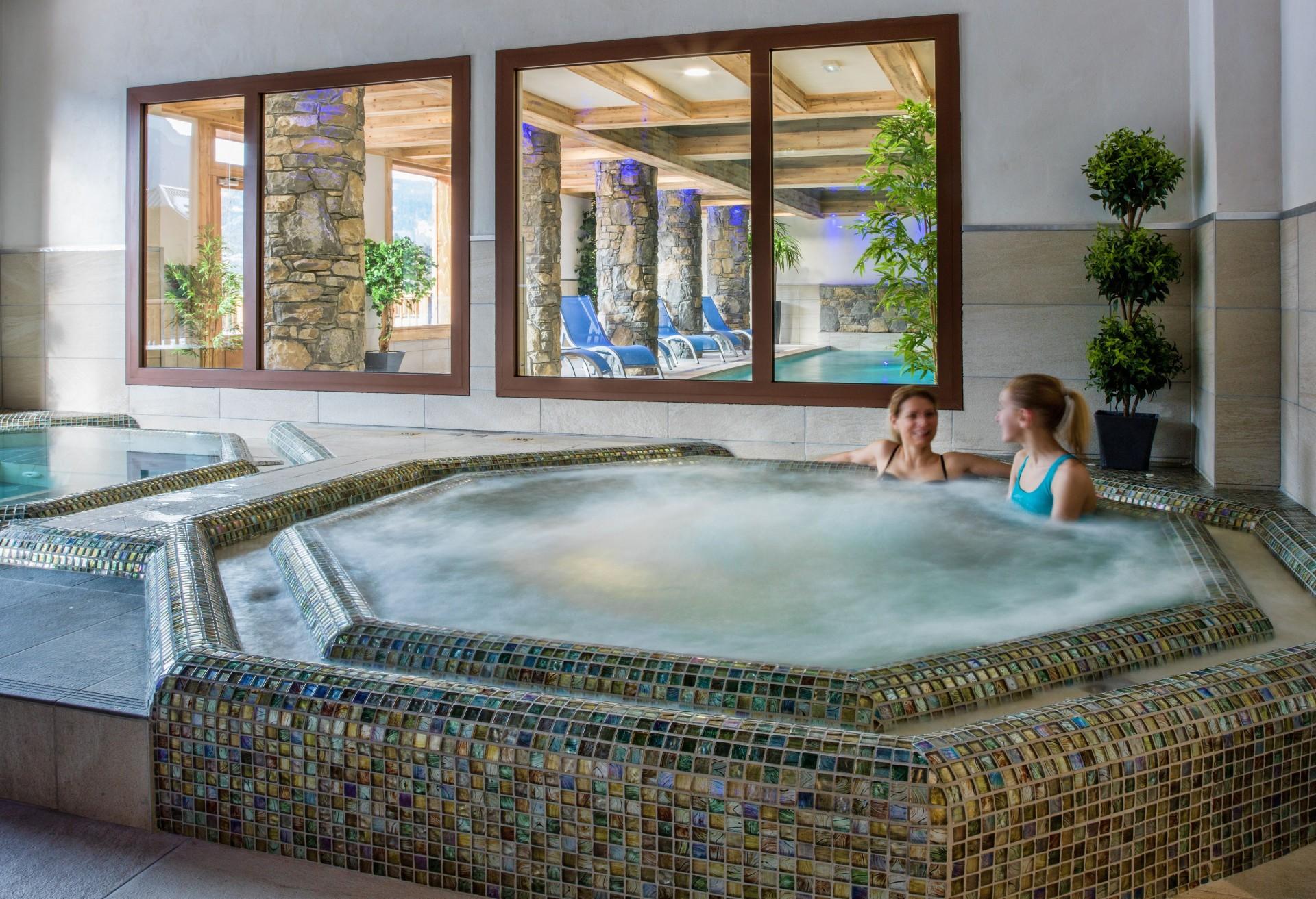 Samoëns Location Appartement Luxe Saléite Jacuzzi